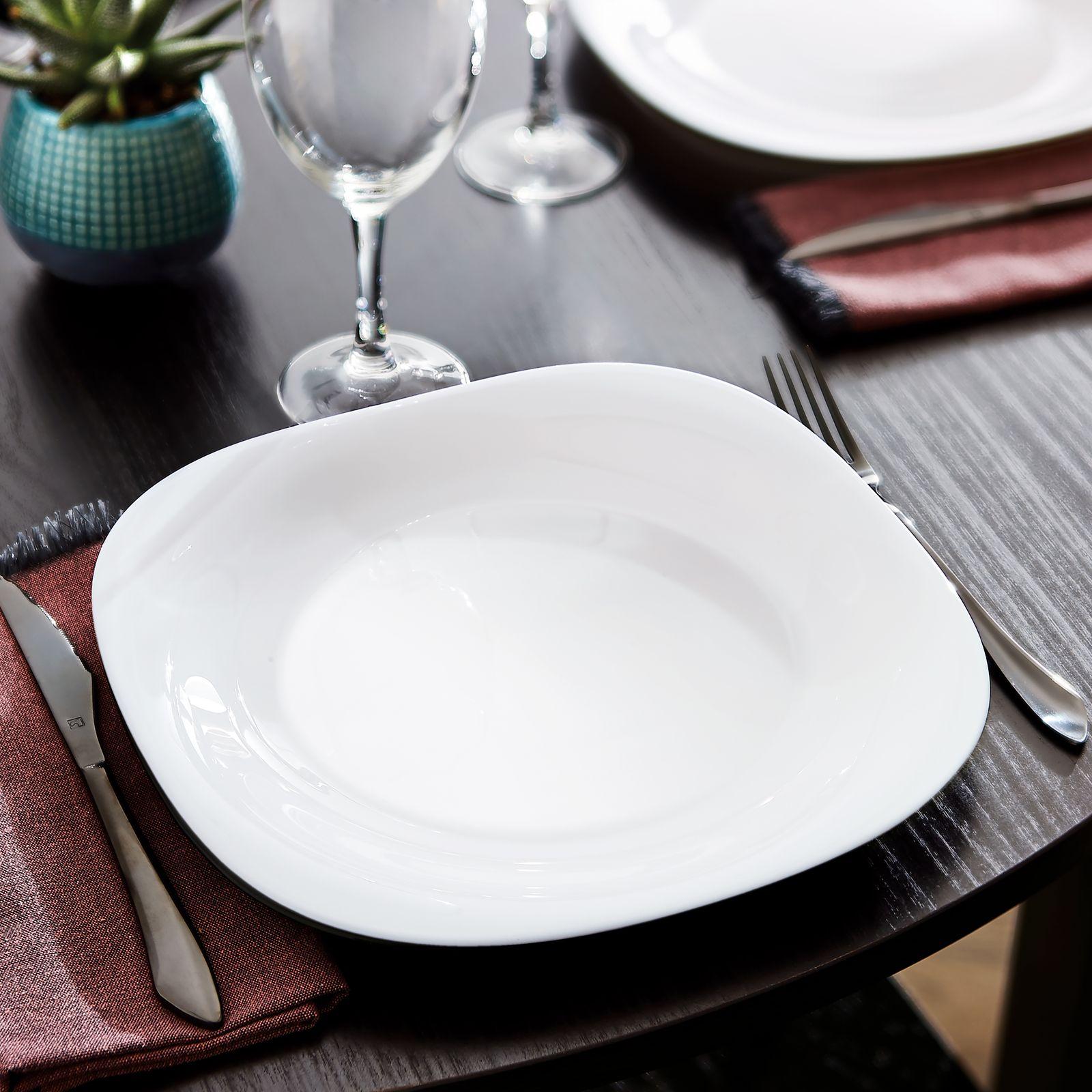 Service de table Carine White Neo 19-pièces LUMINARC