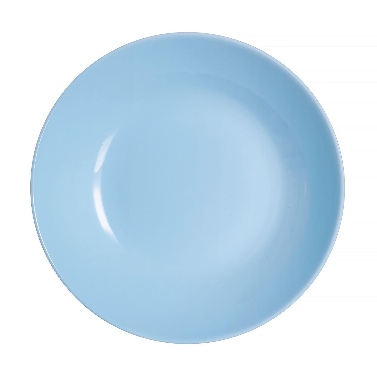 Talerz głęboki Diwali Light Blue 20 cm LUMINARC