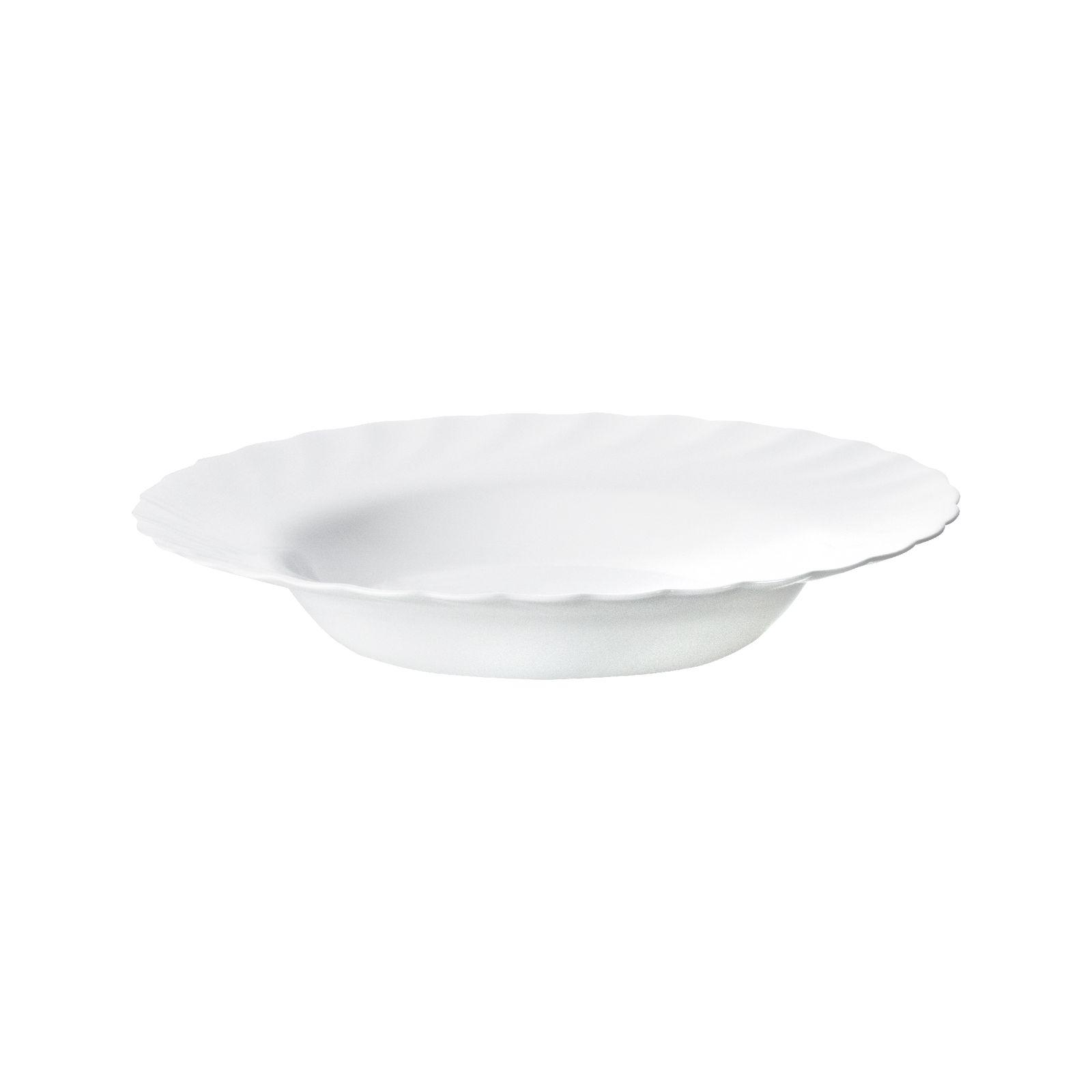 Assiette creuse Trianon 22,5 cm LUMINARC