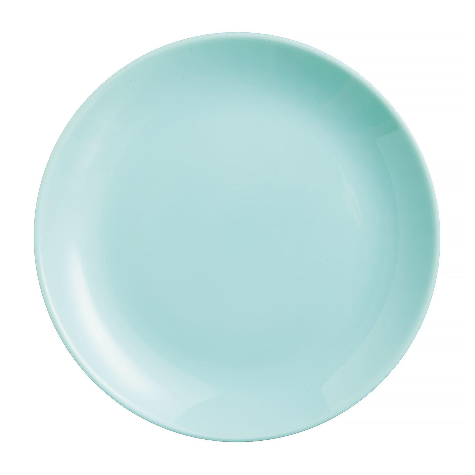Talerz obiadowy Diwali Light Turquoise 25 cm LUMINARC