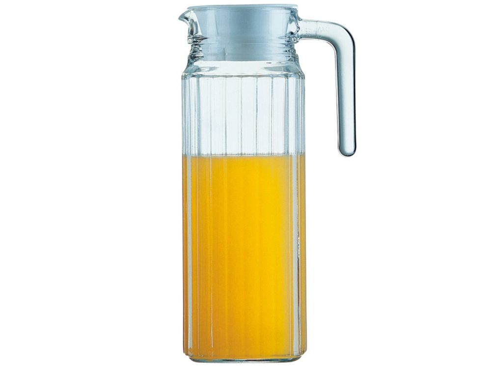 Glass pitcher 1,1 l Quadro LUMINARC