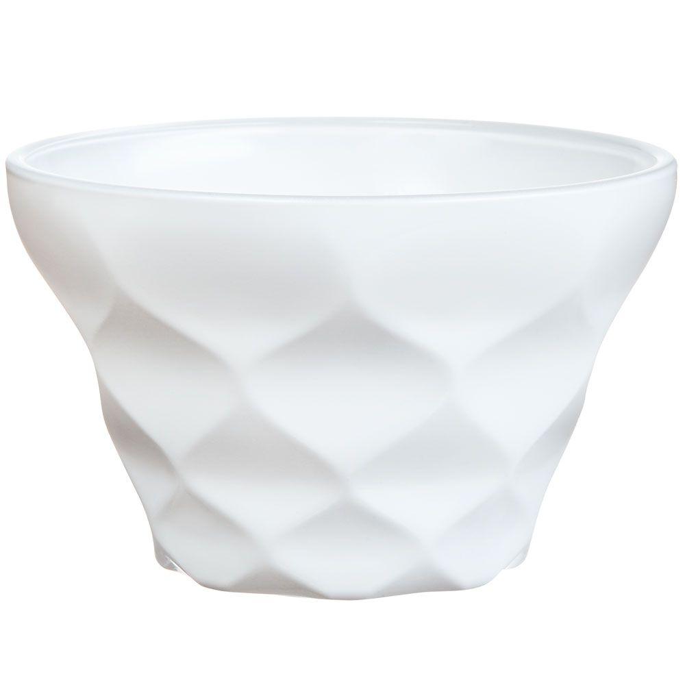Coupe à dessert blanche Iced Diamant 20 cl LUMINARC