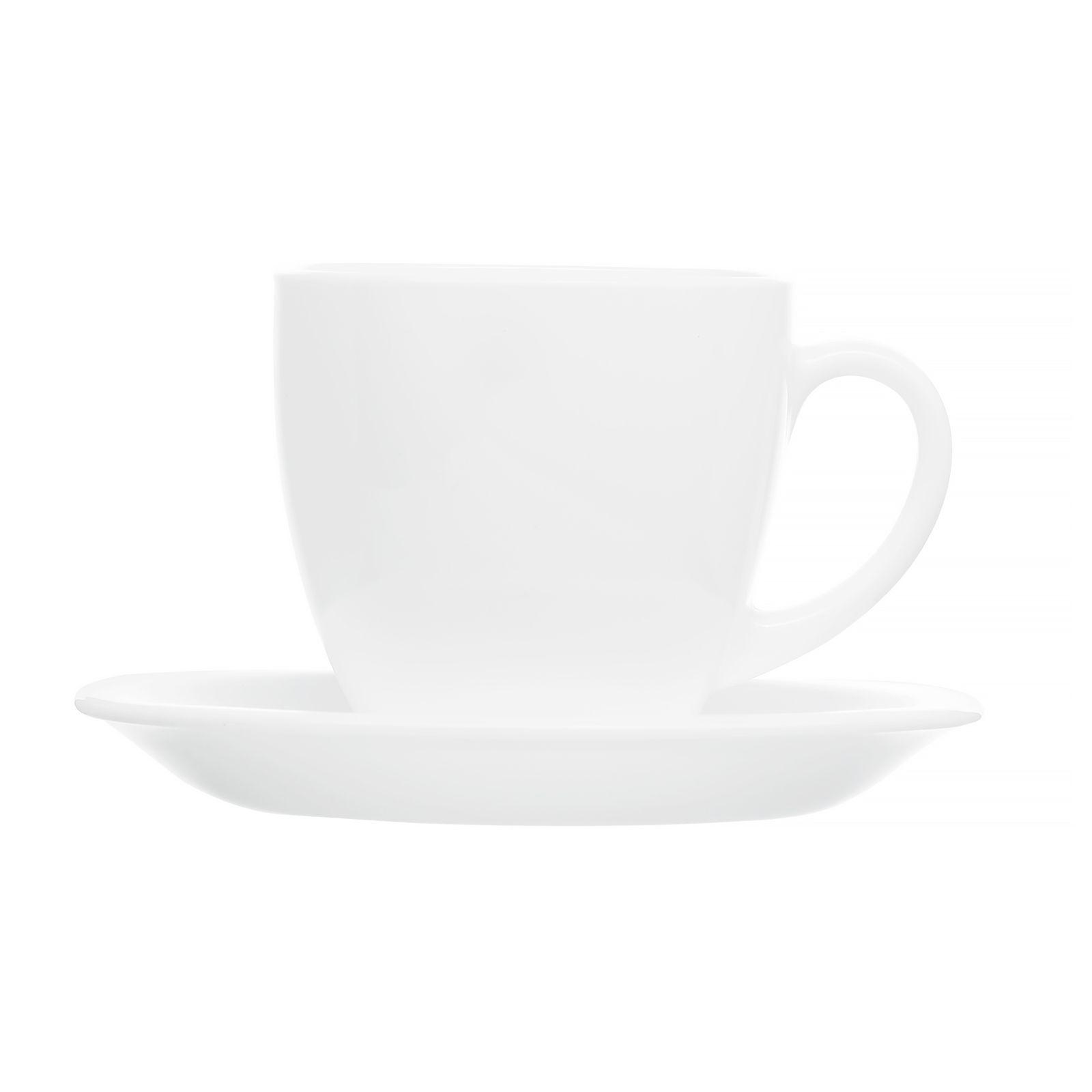 Service à café Carine White 220 ml 12- pièces LUMINARC
