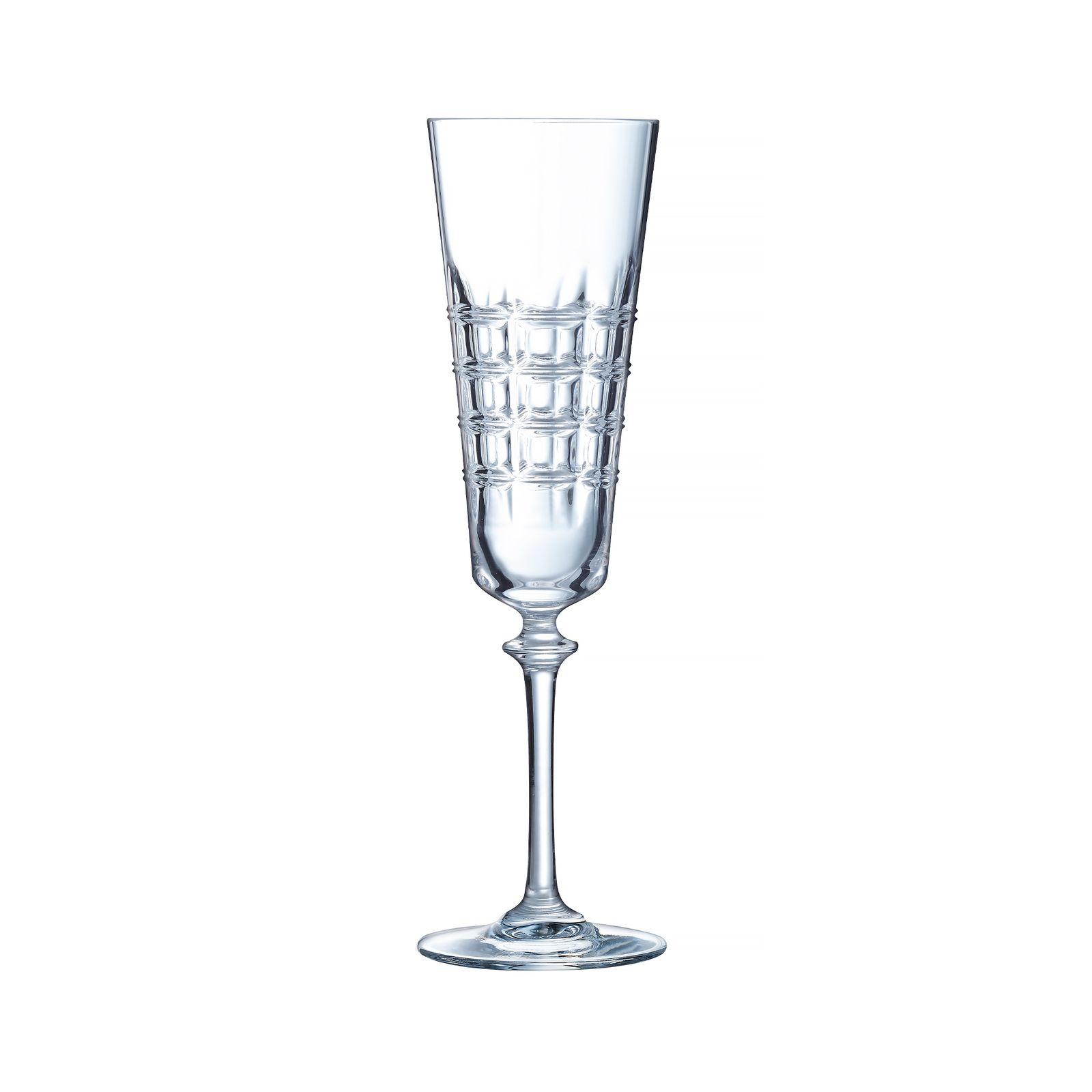 Set de 3 flautas de champán Ninon 17 cl LUMINARC