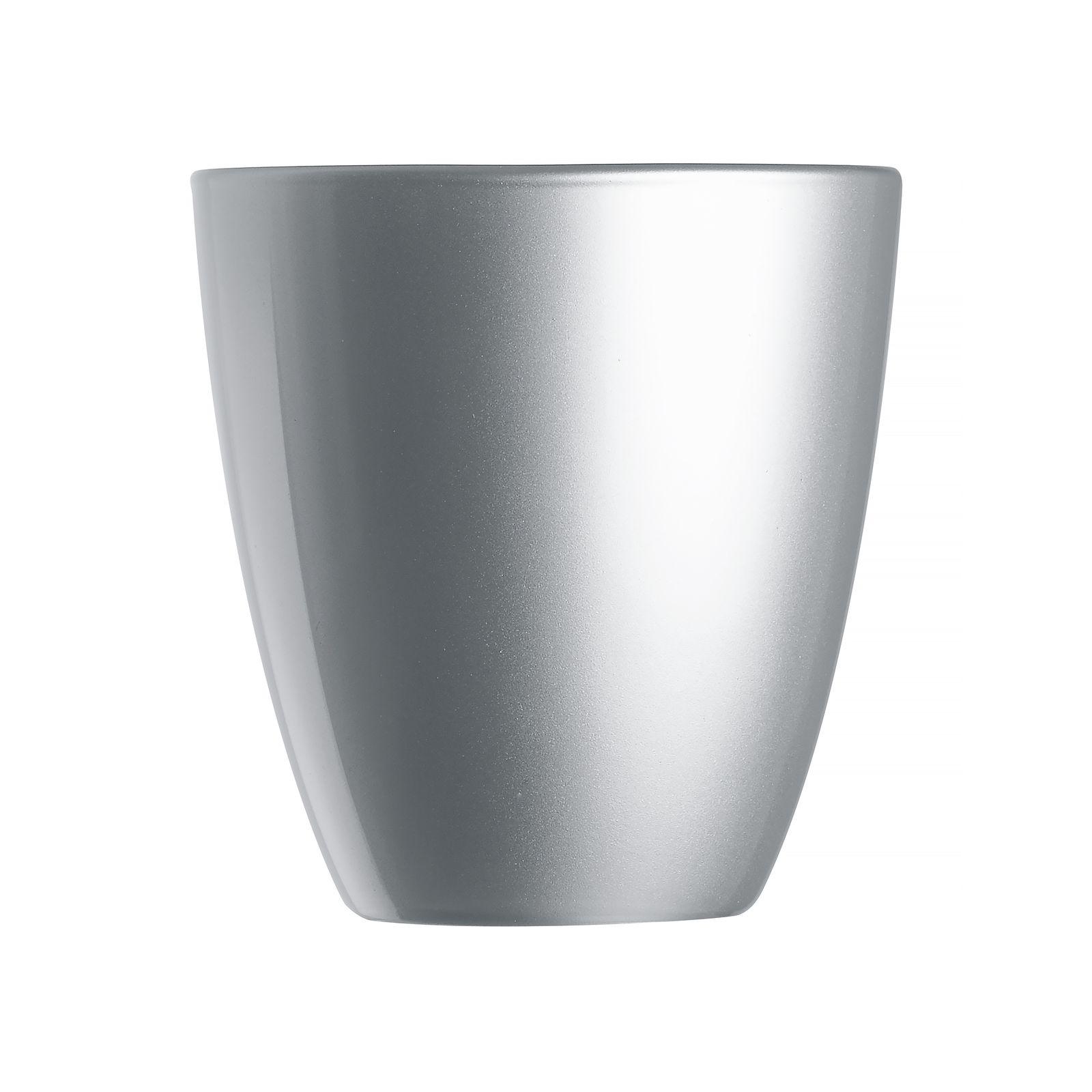 Portacandele Abacco Silver 8,5 cm LUMINARC