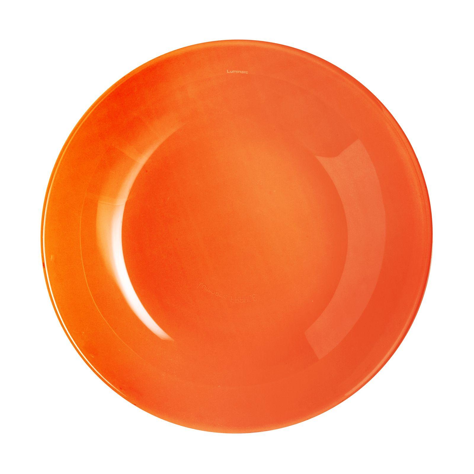 Assiette calotte Arty Orange 20 cm LUMINARC