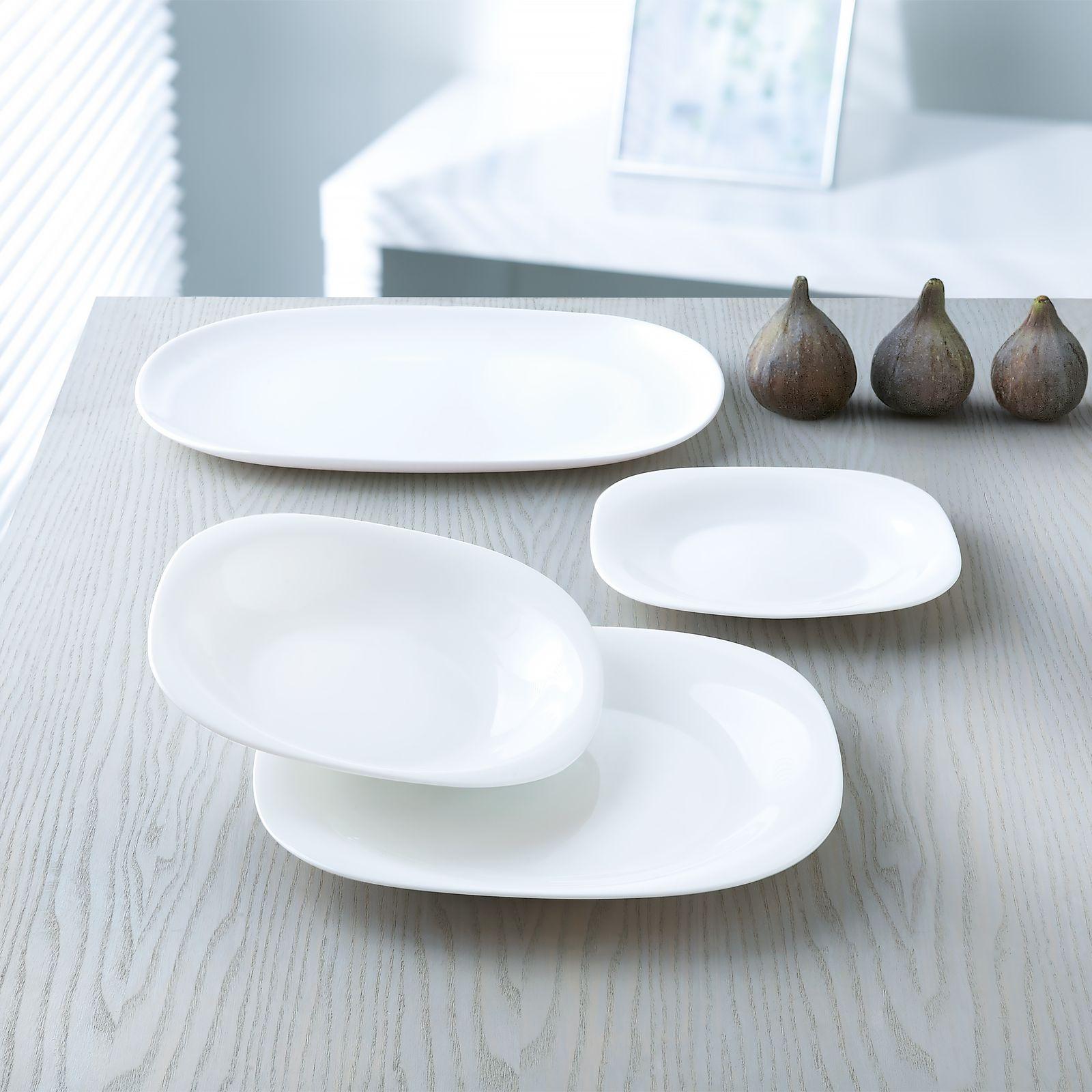 Service de table Carine Neo blanc 216-pièces LUMINARC