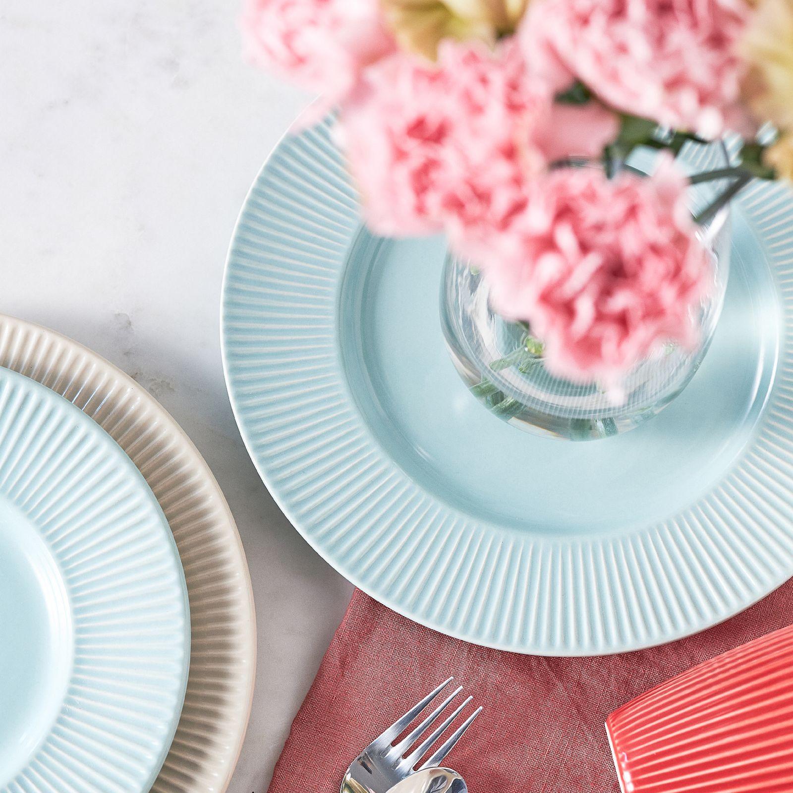 Dinner plate Palette Light Blue 27 cm AMBITION