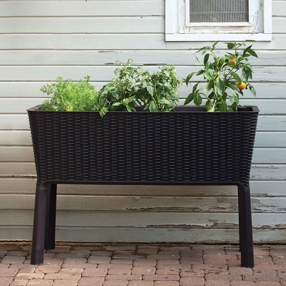 Donica ogrodowa / warzywnik antracyt Easy Grow KETER