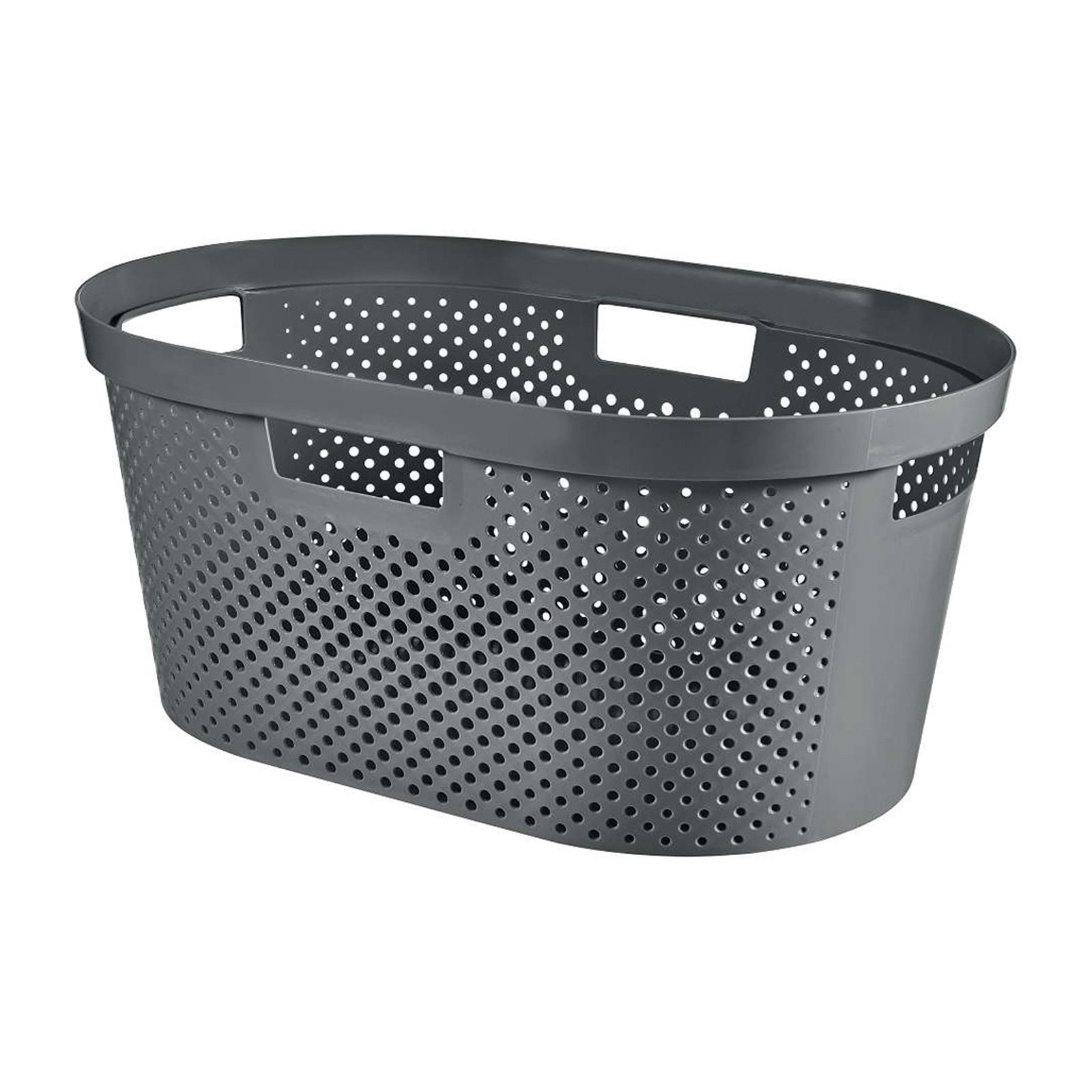 Kosz do magla Infinity 100% Recykling Eko 40 L szary CURVER