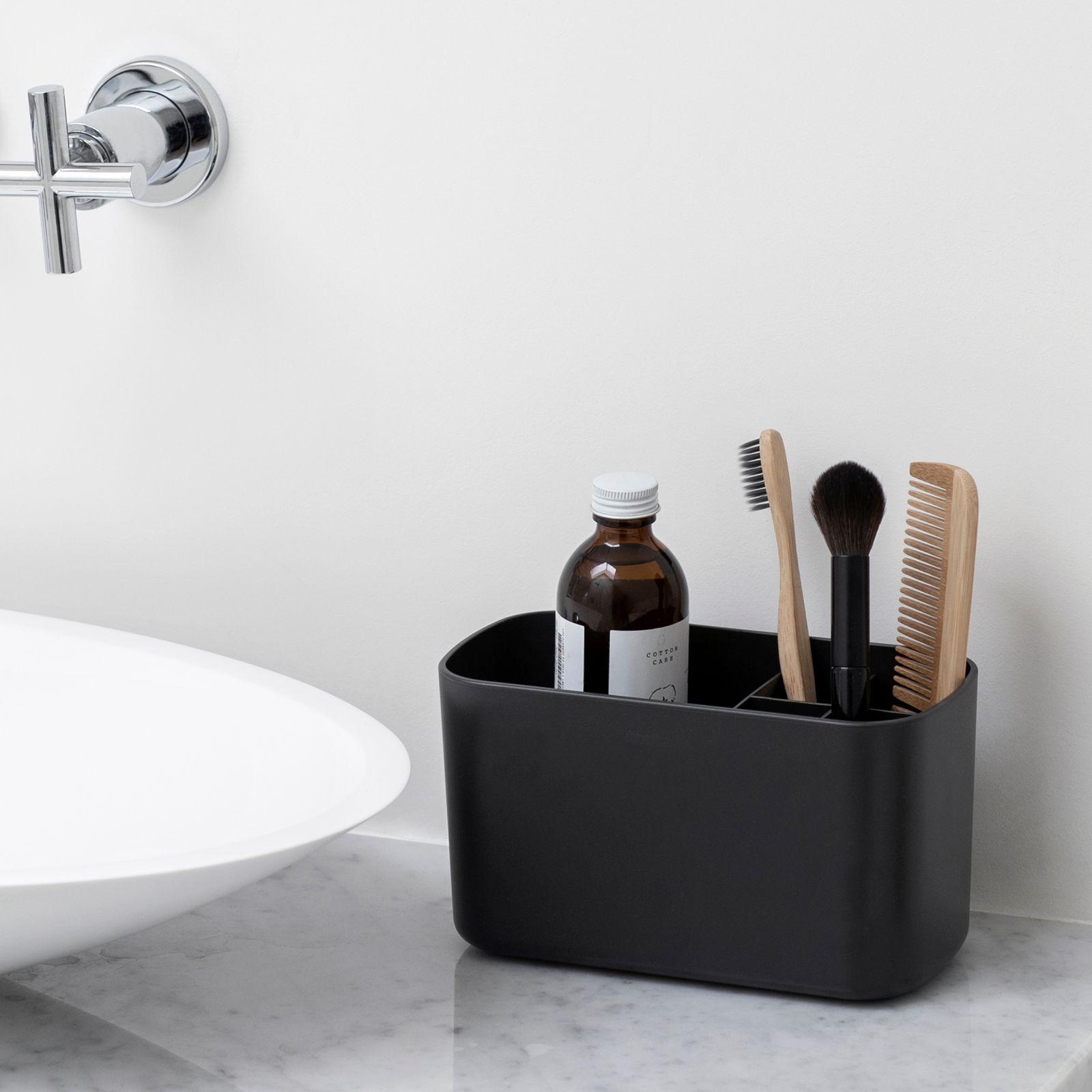 Organizer na umywalkę 19,6 cm ciemnoszary BRABANTIA