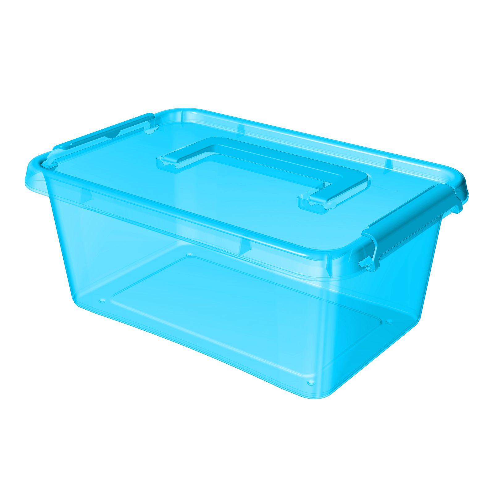 Pojemnik z rączką SimpleStore Color Box 4,5 l niebieski ORPLAST