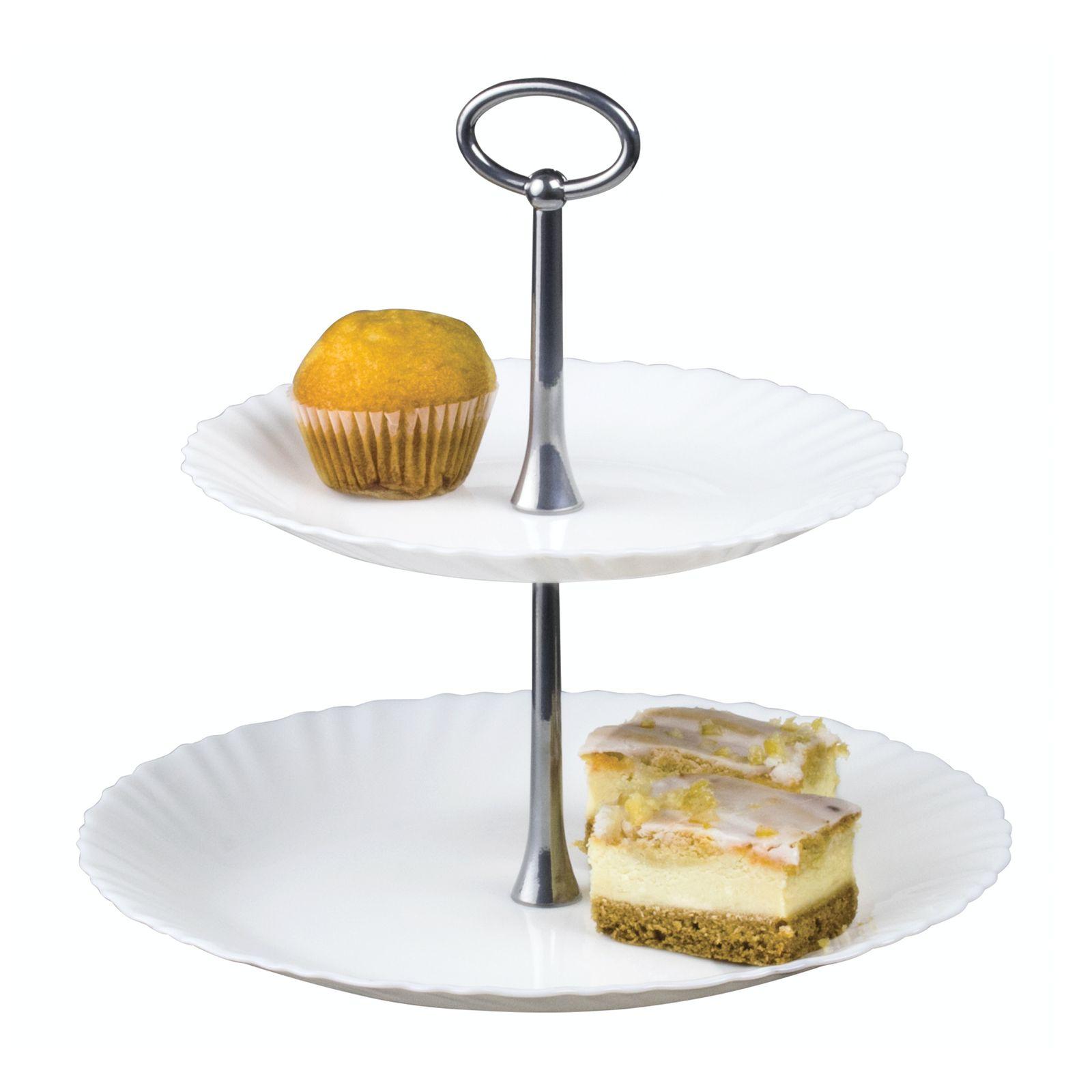 2- tier cake stand Feston 27 cm LUMINARC