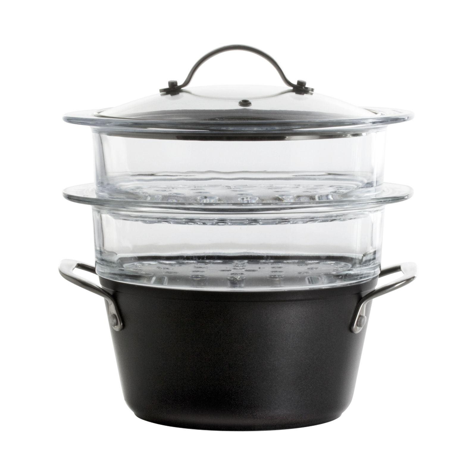 Set de cocción al vapor con 2 cestas Magnat 20 cm induction AMBITION