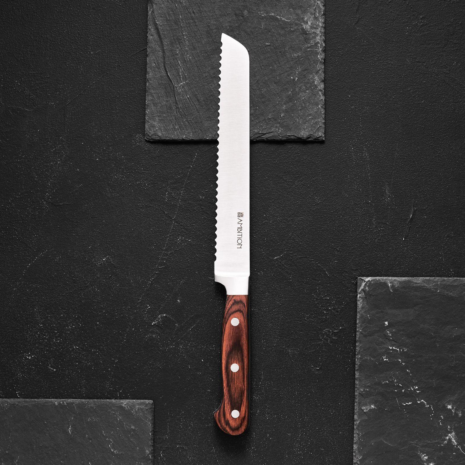 Nóż do pieczywa Titanium 20 cm AMBITION