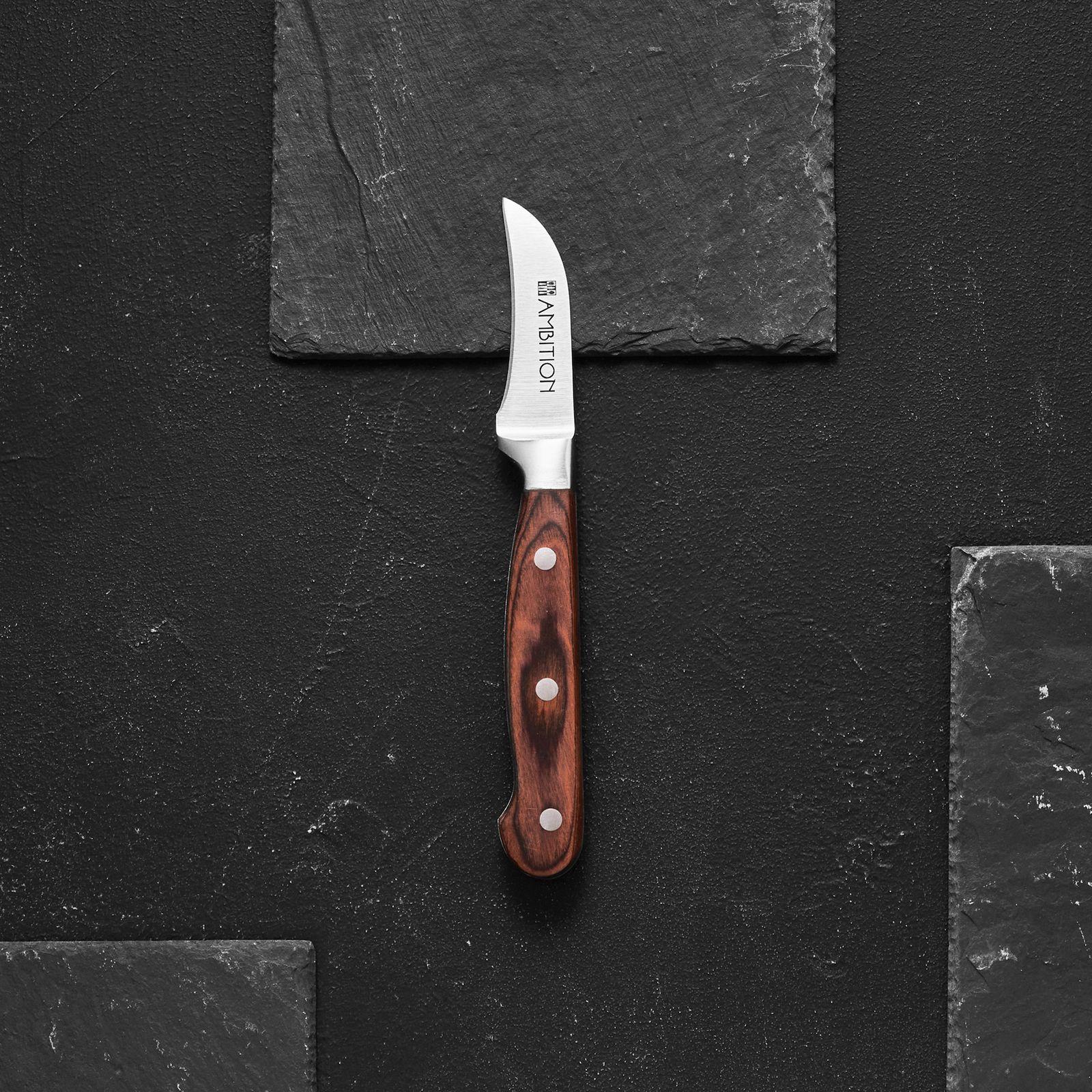 Nóż kuchenny obierak Titanium 5 cm AMBITION