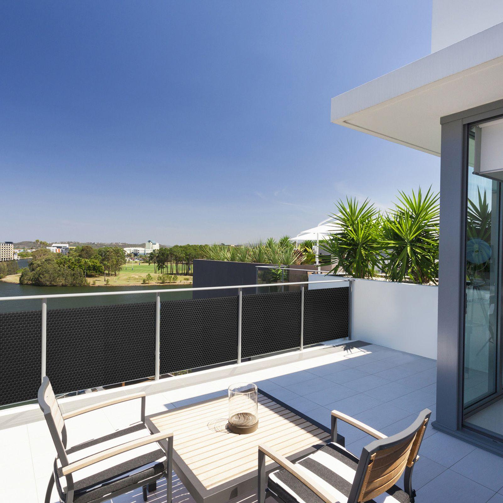 Osłona balkonowa Tress 1 x 3 m szara PATIO