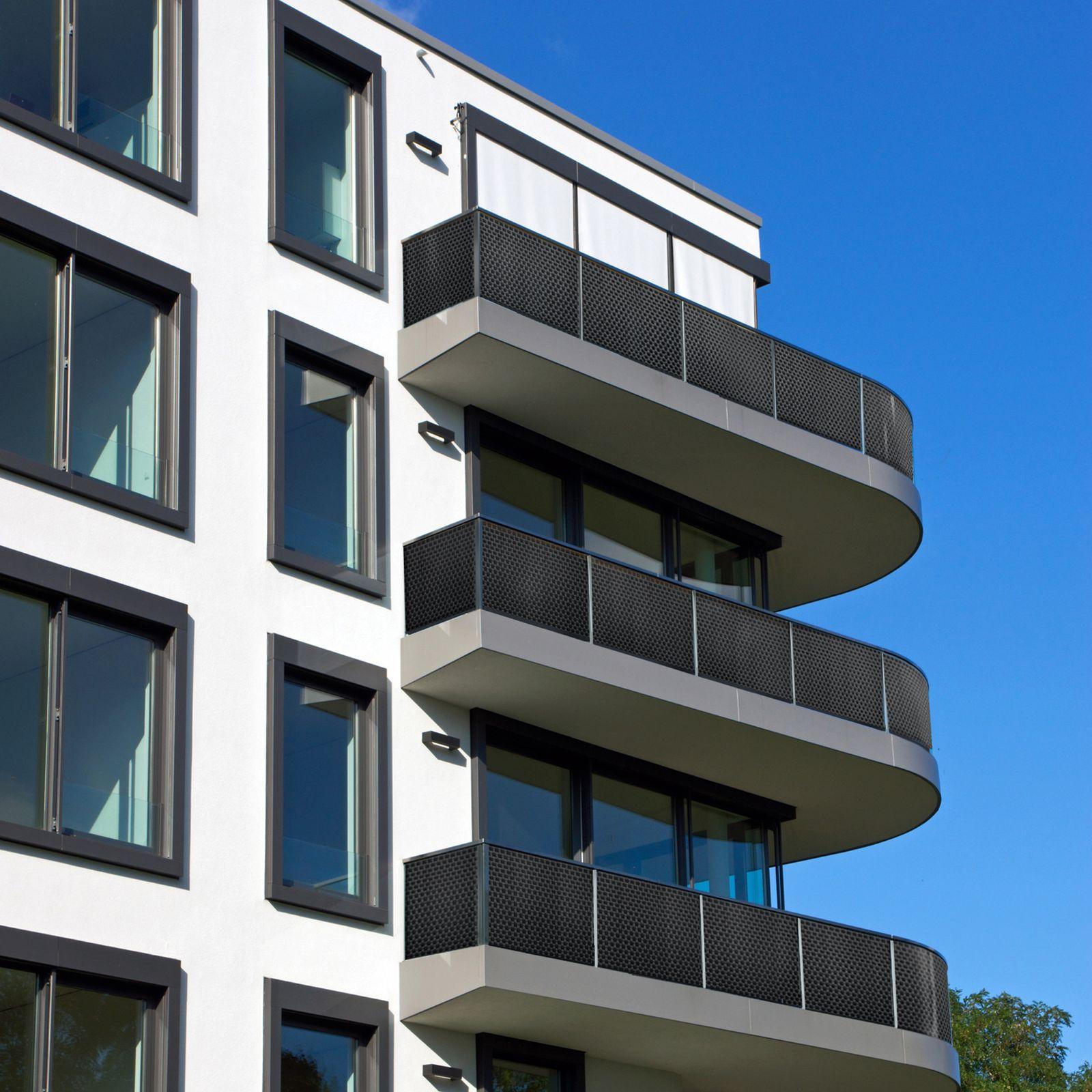 Osłona balkonowa Tress 1 x 5 m szara PATIO