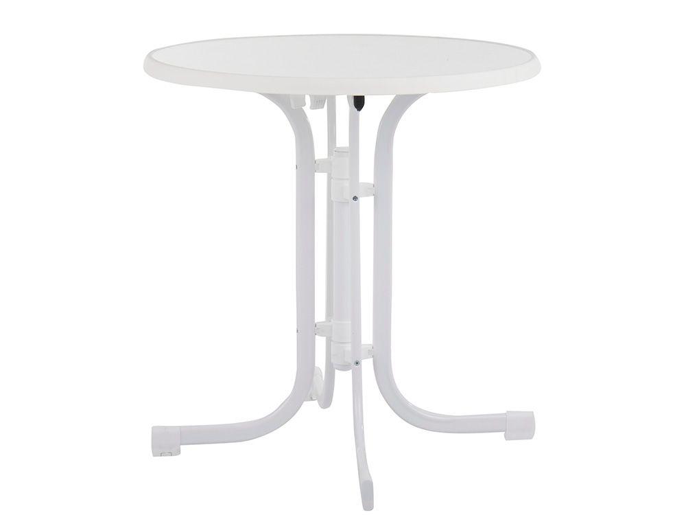 Stół Dine & Relax hiszpański 80 cm biały PATIO