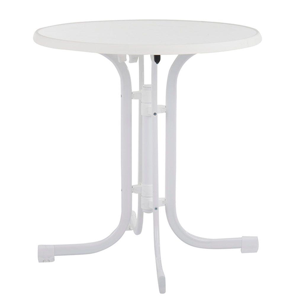 Stół Dine & Relax 70 cm marble / biały PATIO