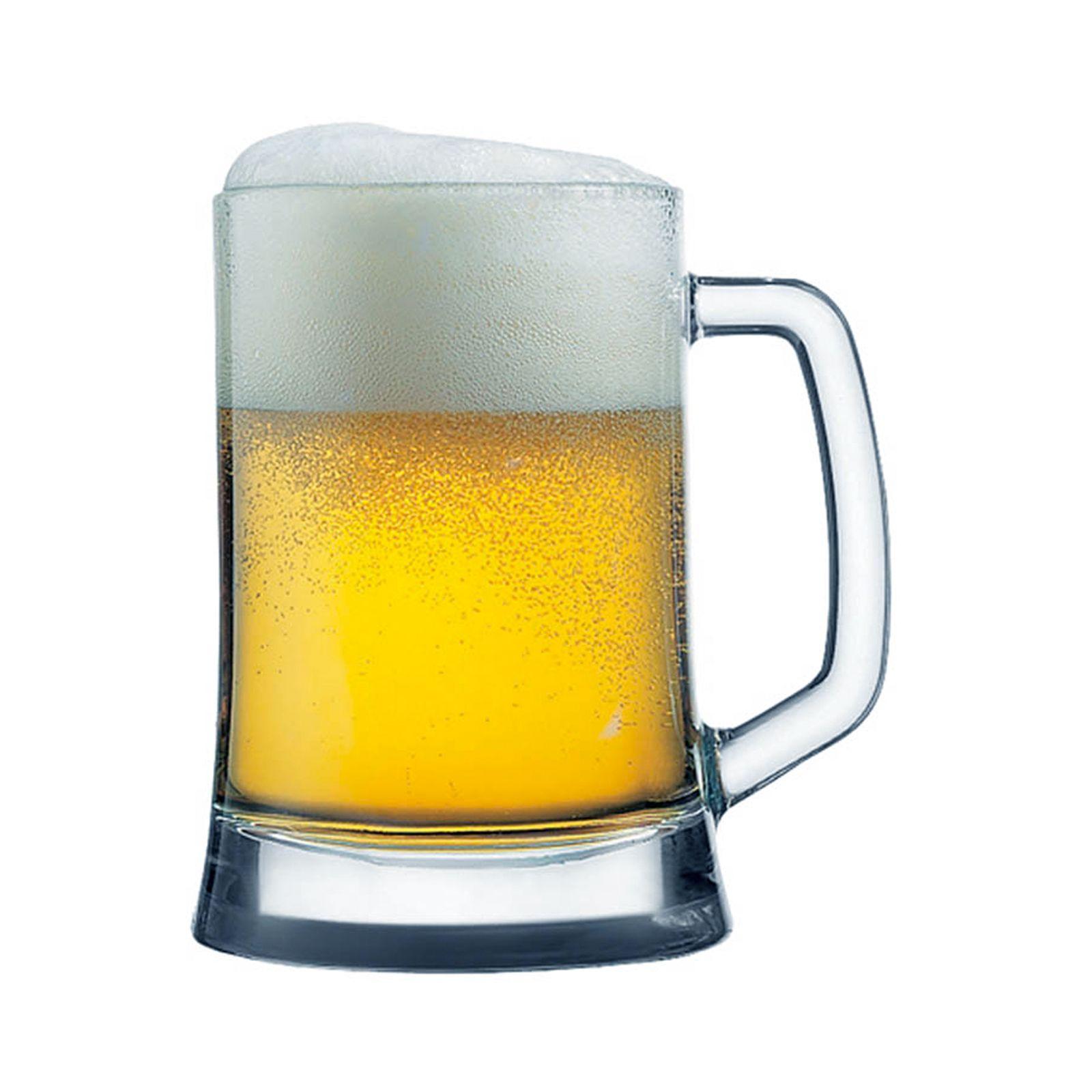 Beer mug Bremen / Star 660 ml PASABAHCE