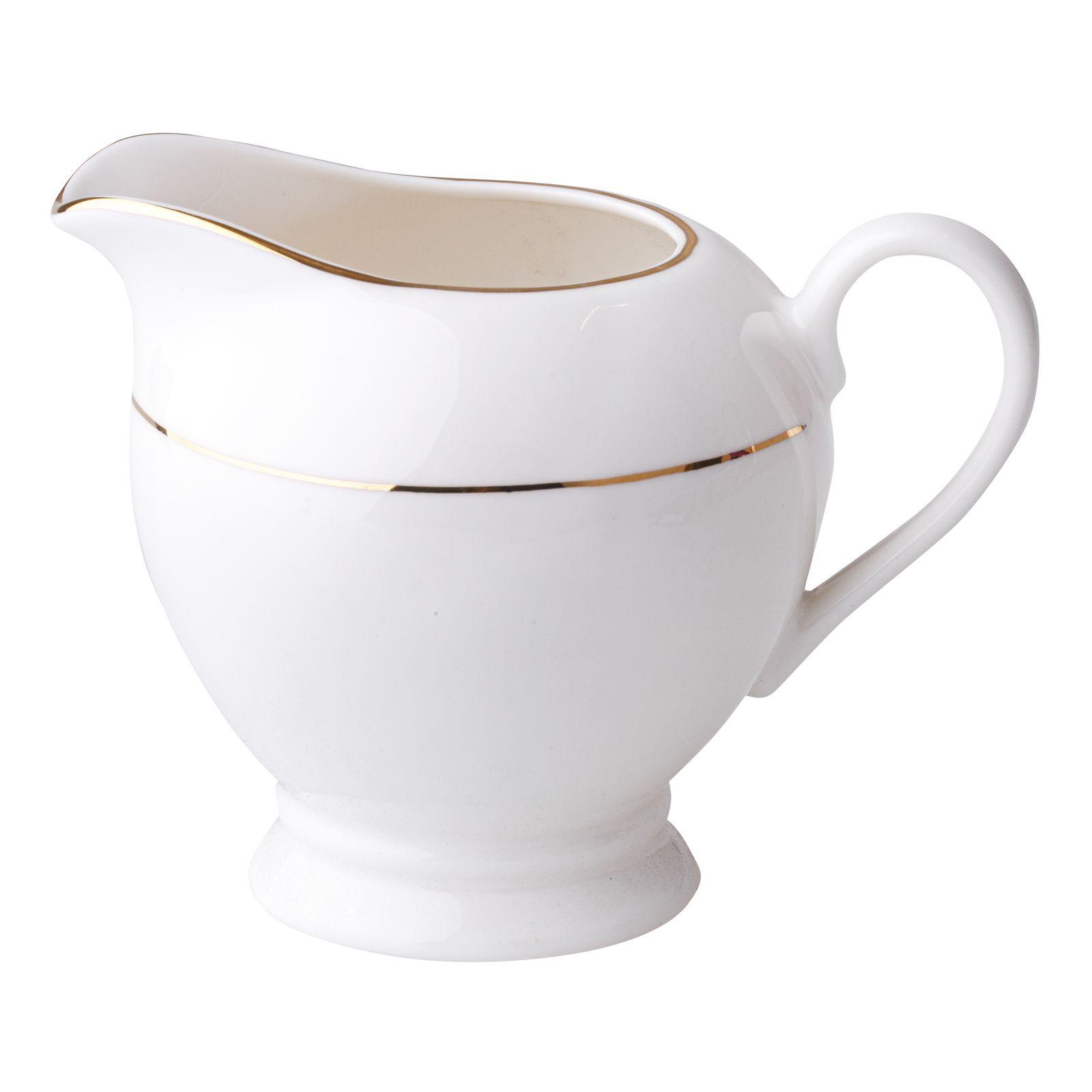 Porcelánová kanvička na mlieko Aura Gold 300 ml AMBITION