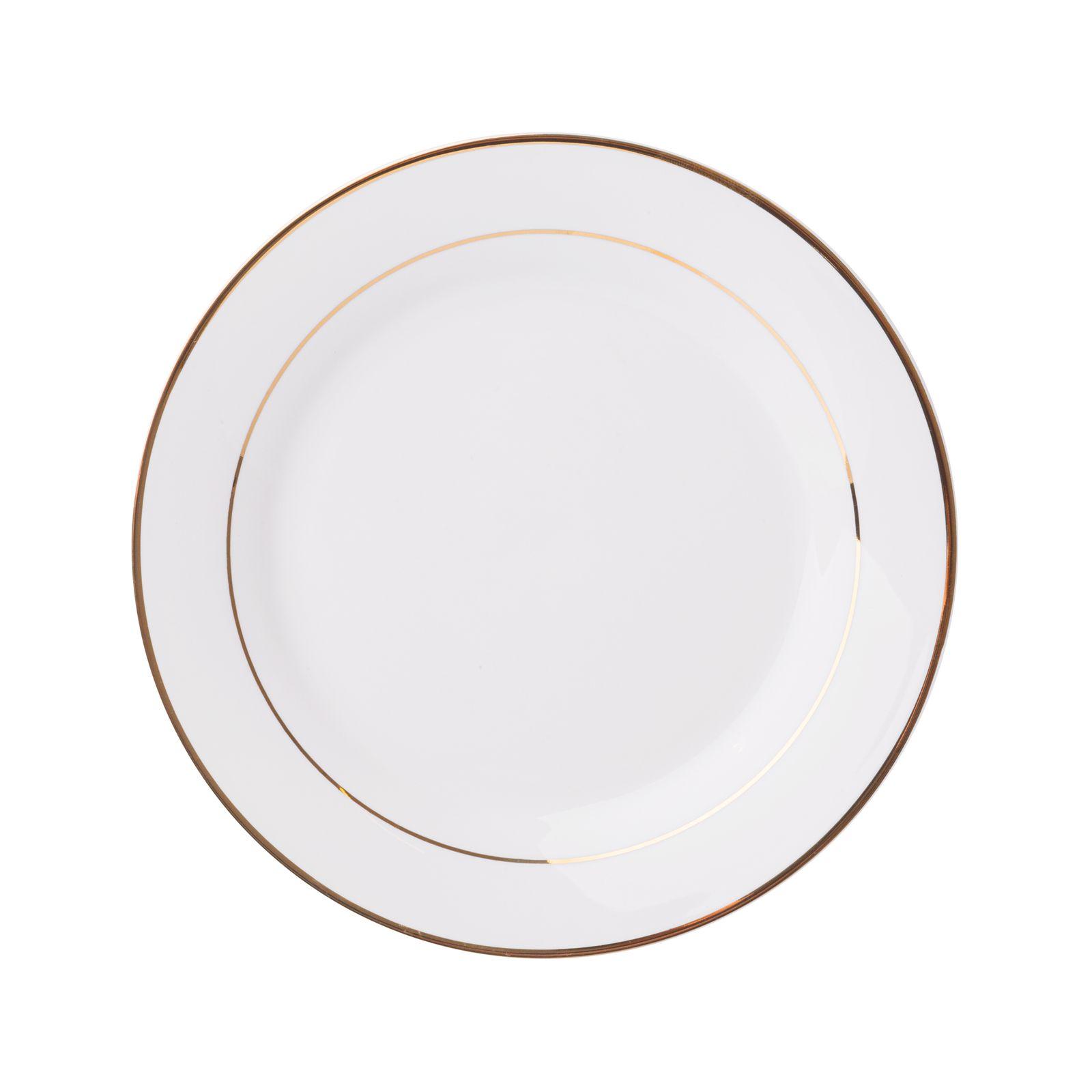 Assiette à dessert 16,5 cm Aura Gold AMBITION