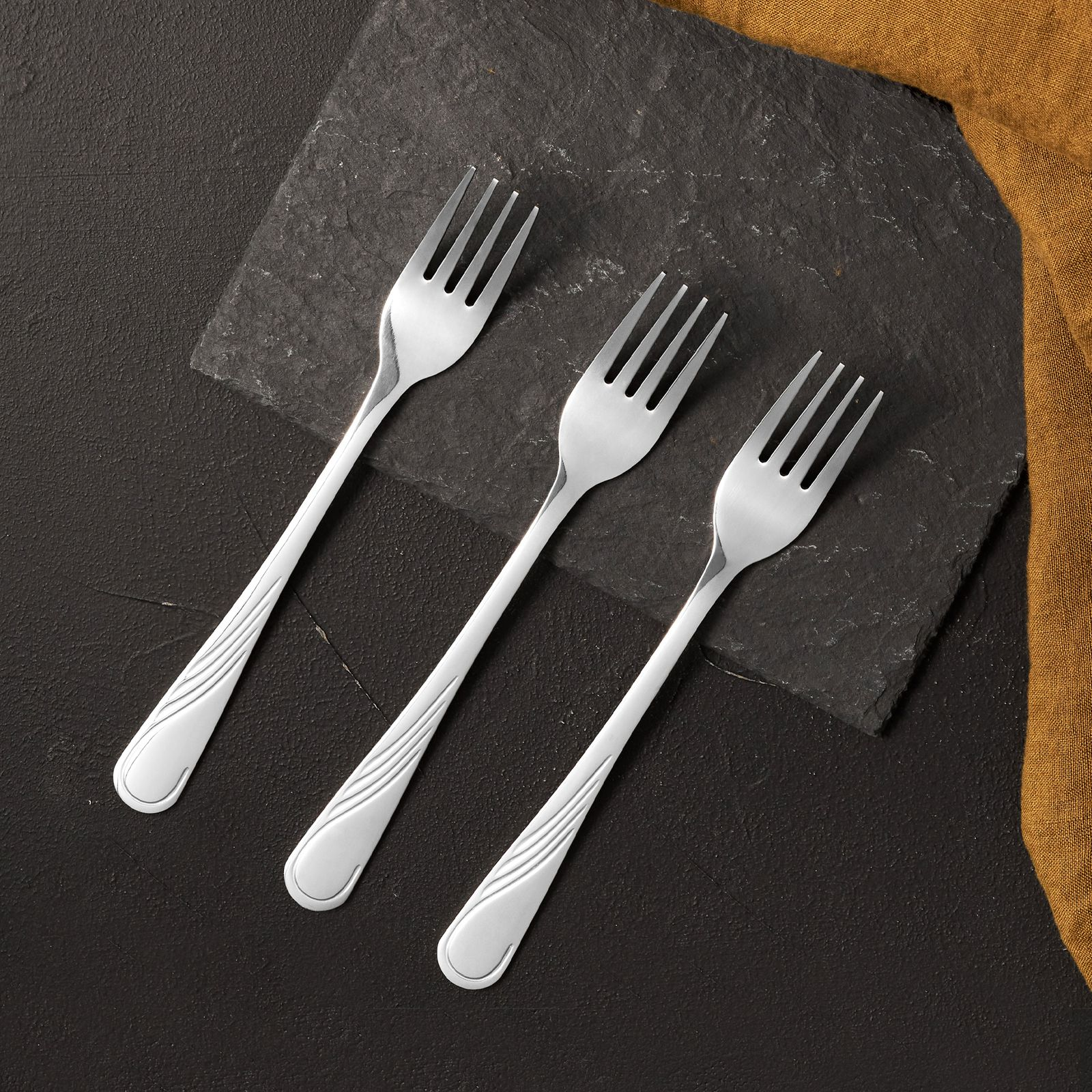 Table fork Napoli 3 pieces AMBITION