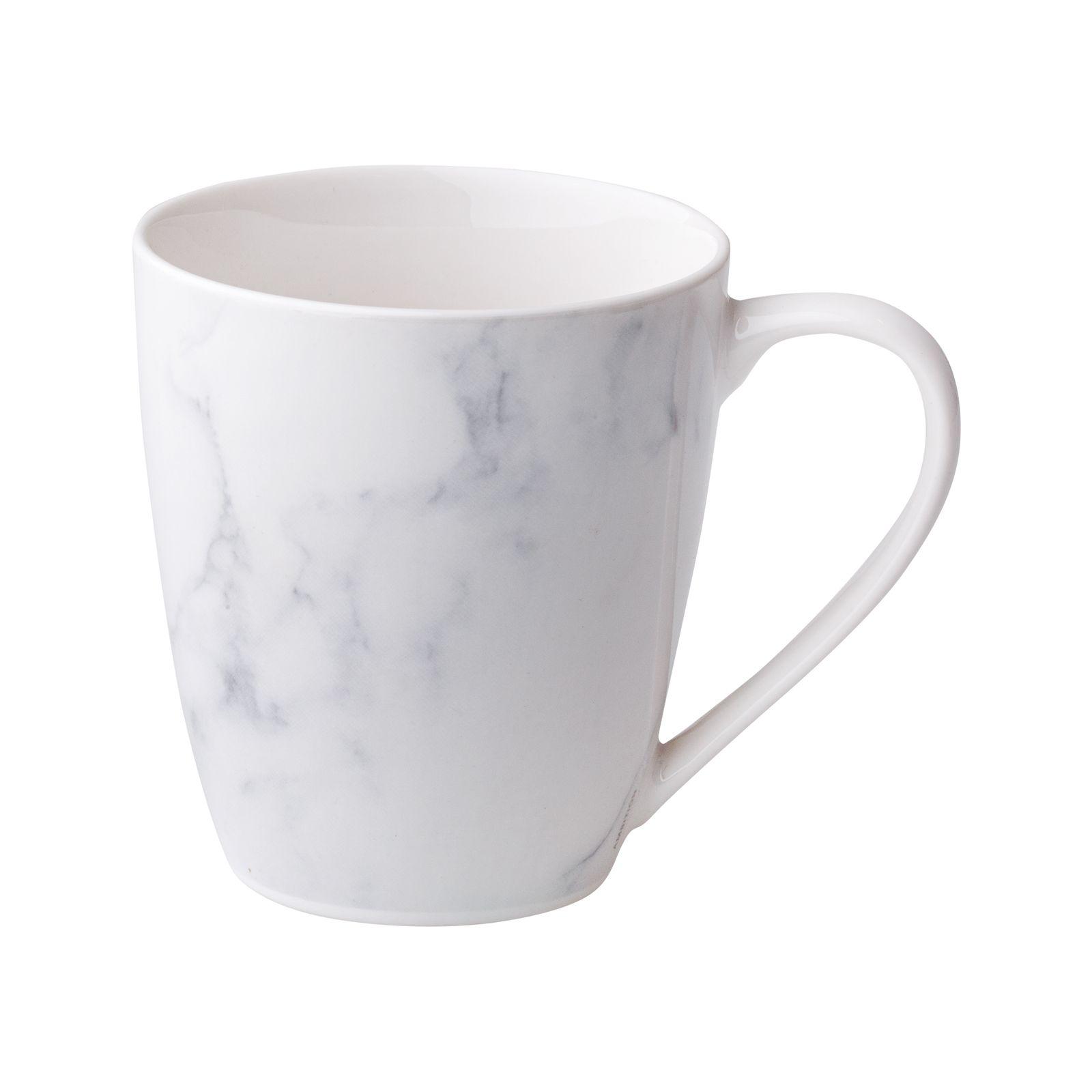 Tasse en porcelaine Marble 37 cl AMBITION