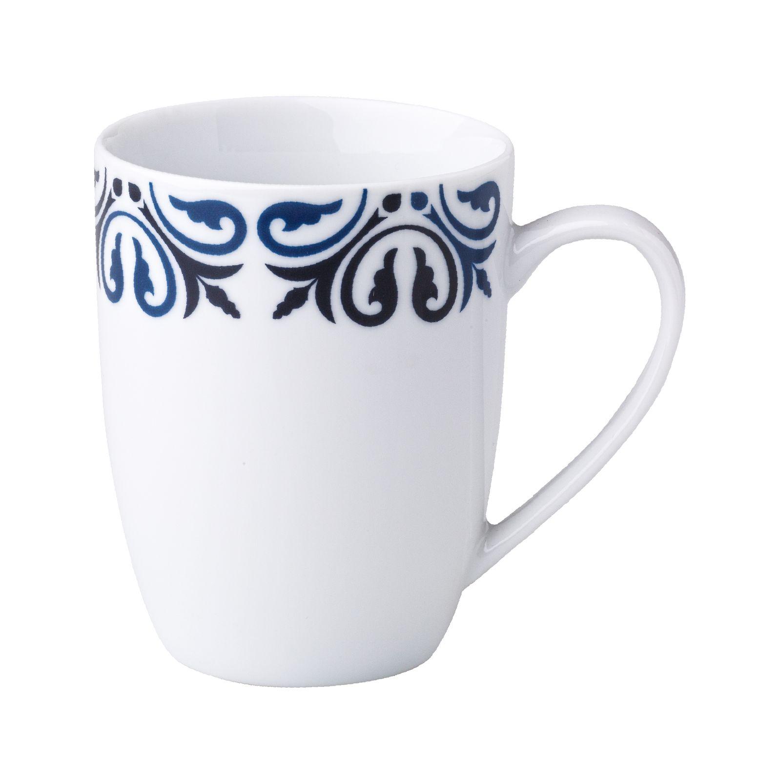 Tasse en porcelaine Marocco blue navy 37 cl AMBITION