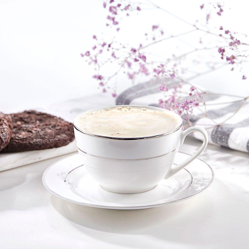 Service à thé/café Aura Silver 12-pièces AMBITION