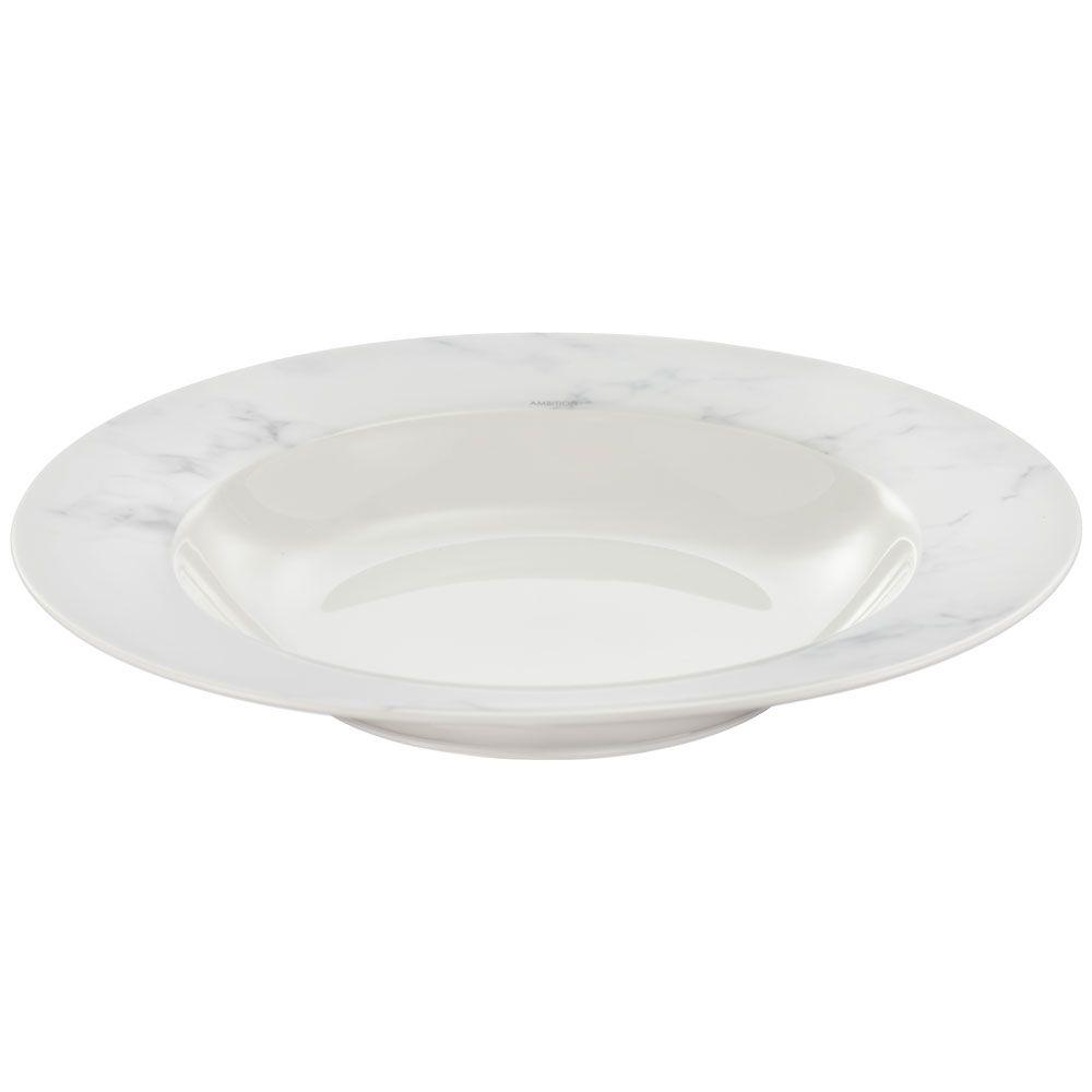 Serwis obiadowy 18-elementowy Marble AMBITION