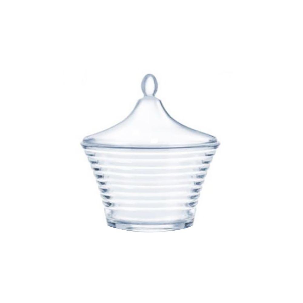 Sugar bowl with lid Rynglit 10 cm LUMINARC