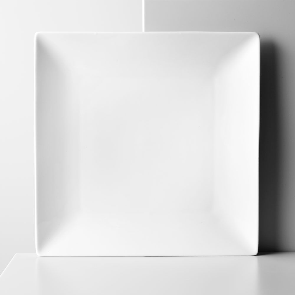 Assiette plate Porto 26 x 26 cm AMBITION