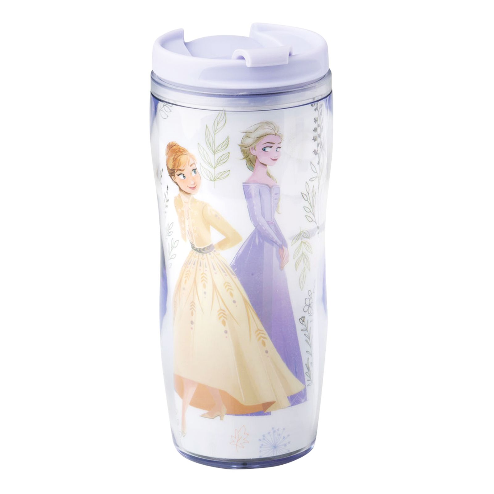 Hrnek / láhev s výměnnou grafikou Frozen II Herbal 400 ml DISNEY