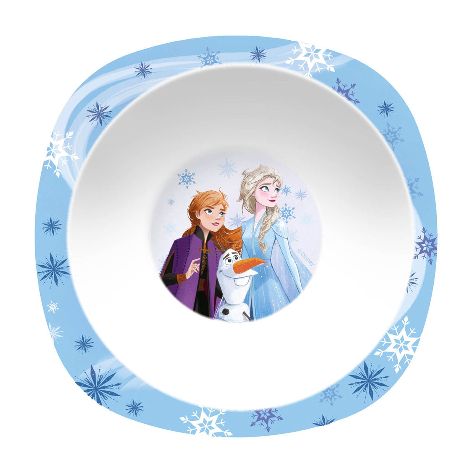Plastová miska Frozen II Blue 21 cm DISNEY