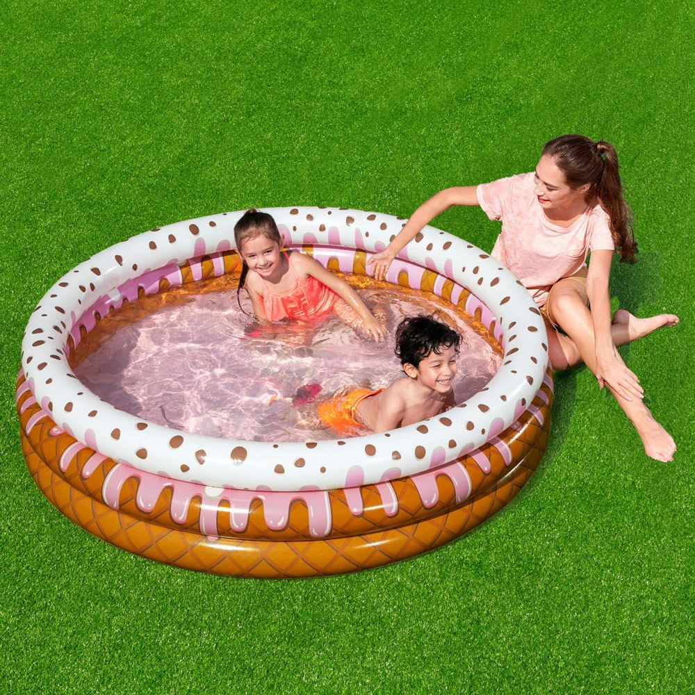 Piscine gonflable Sunday Funday Kiddie Pool 160 x 38 cm BESTWAY