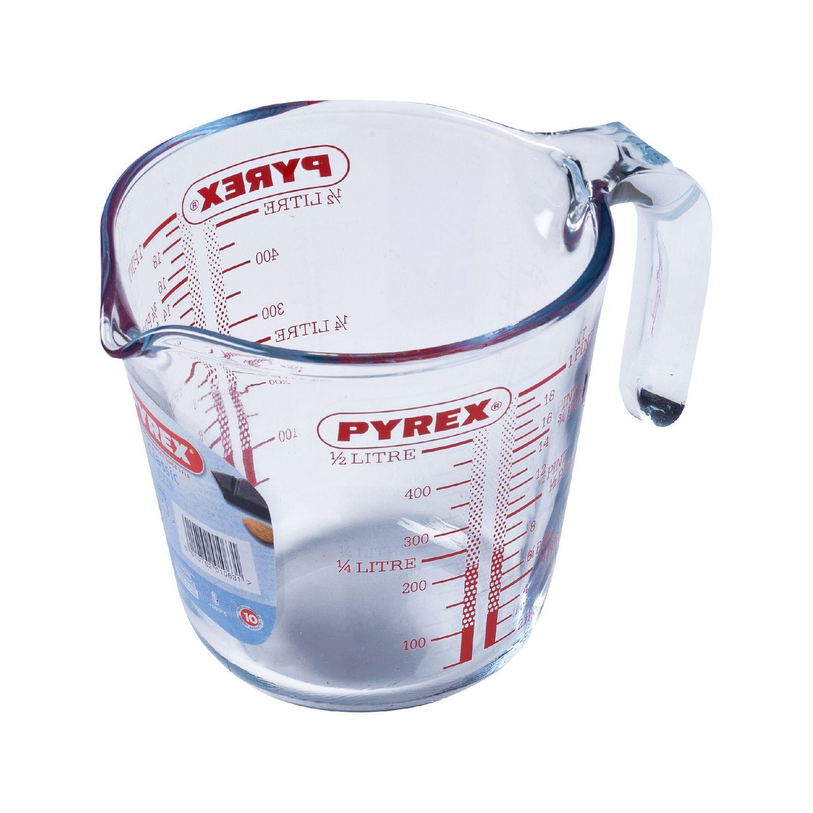 Szklany dzbanek z miarką 0,5 l PYREX
