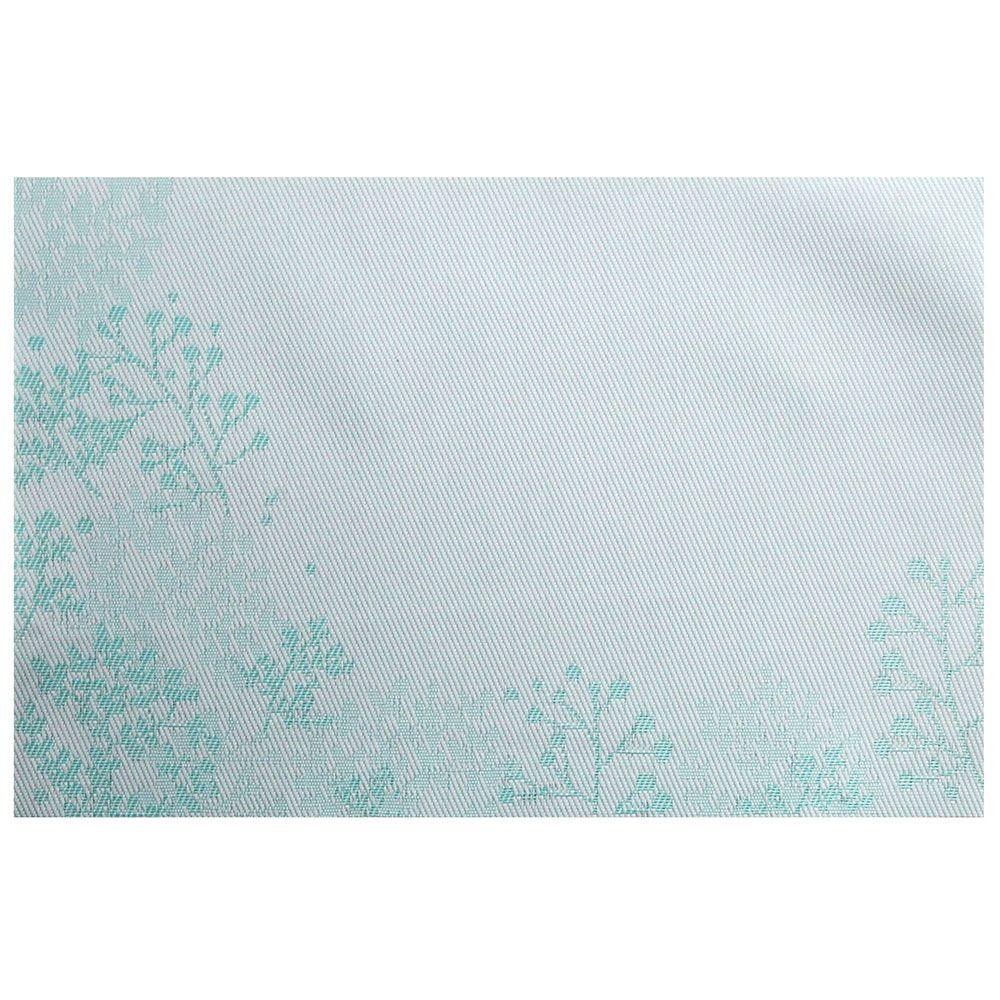 Mata stołowa PVC/PS Nordic Gałązka 30 x 45 błękitna AMBITION
