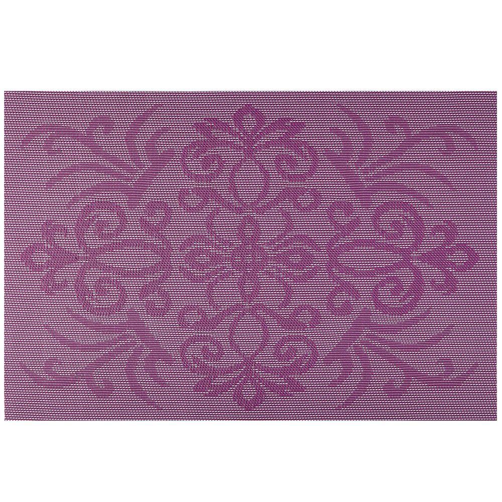 Bordstablett Glamour 45 x 30 cm lila AMBITION