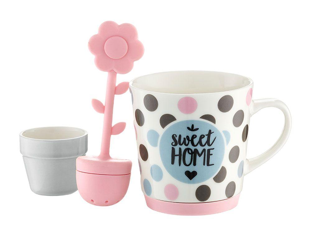 Mug avec infuseur Sweet Pois 29 cl AMBITION