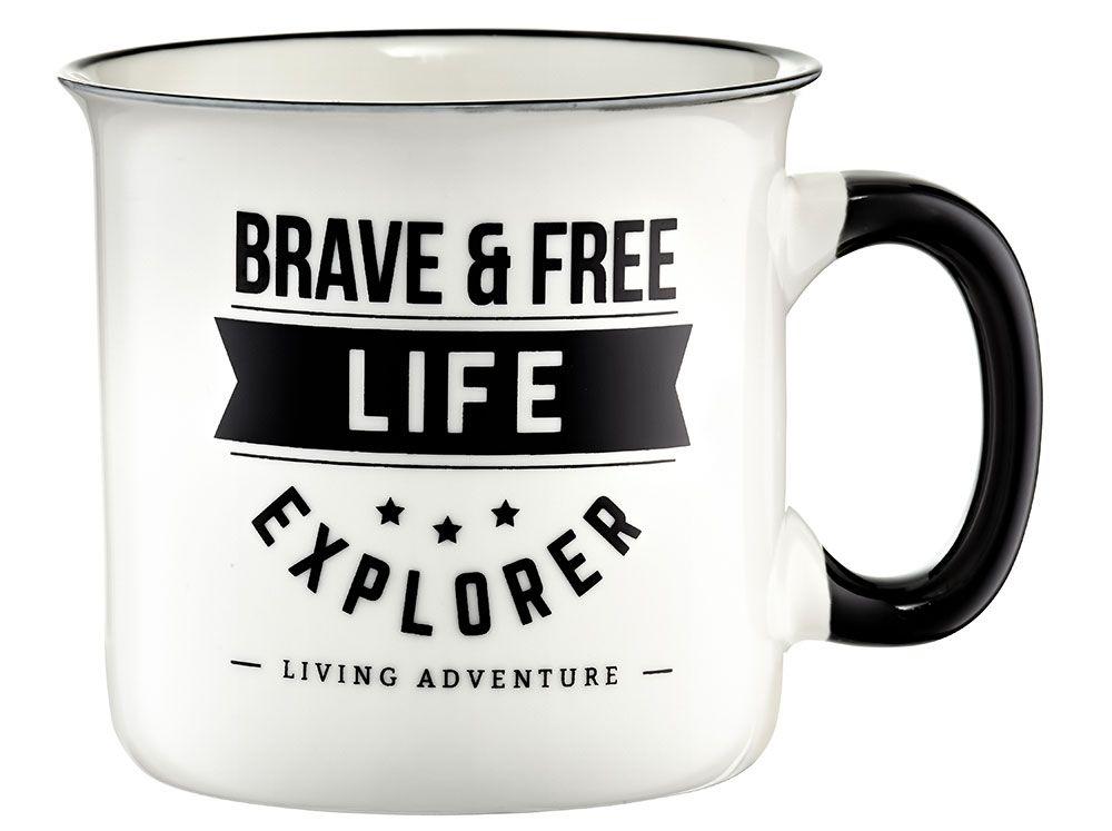 Kubek Adventure Brave and free 510 ml AMBITION