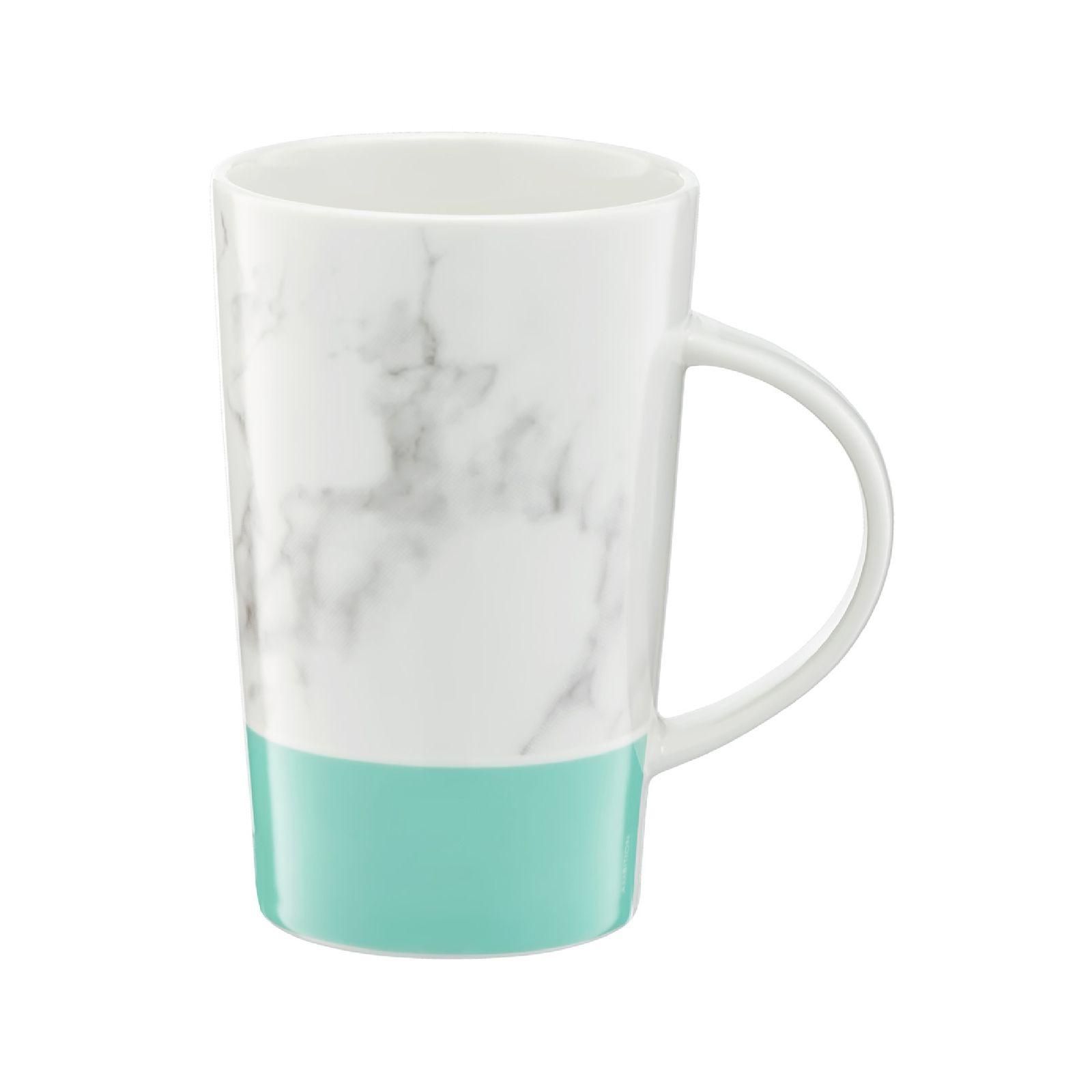 Kubek porcelanowy 430 ml Marble miętowy AMBITION