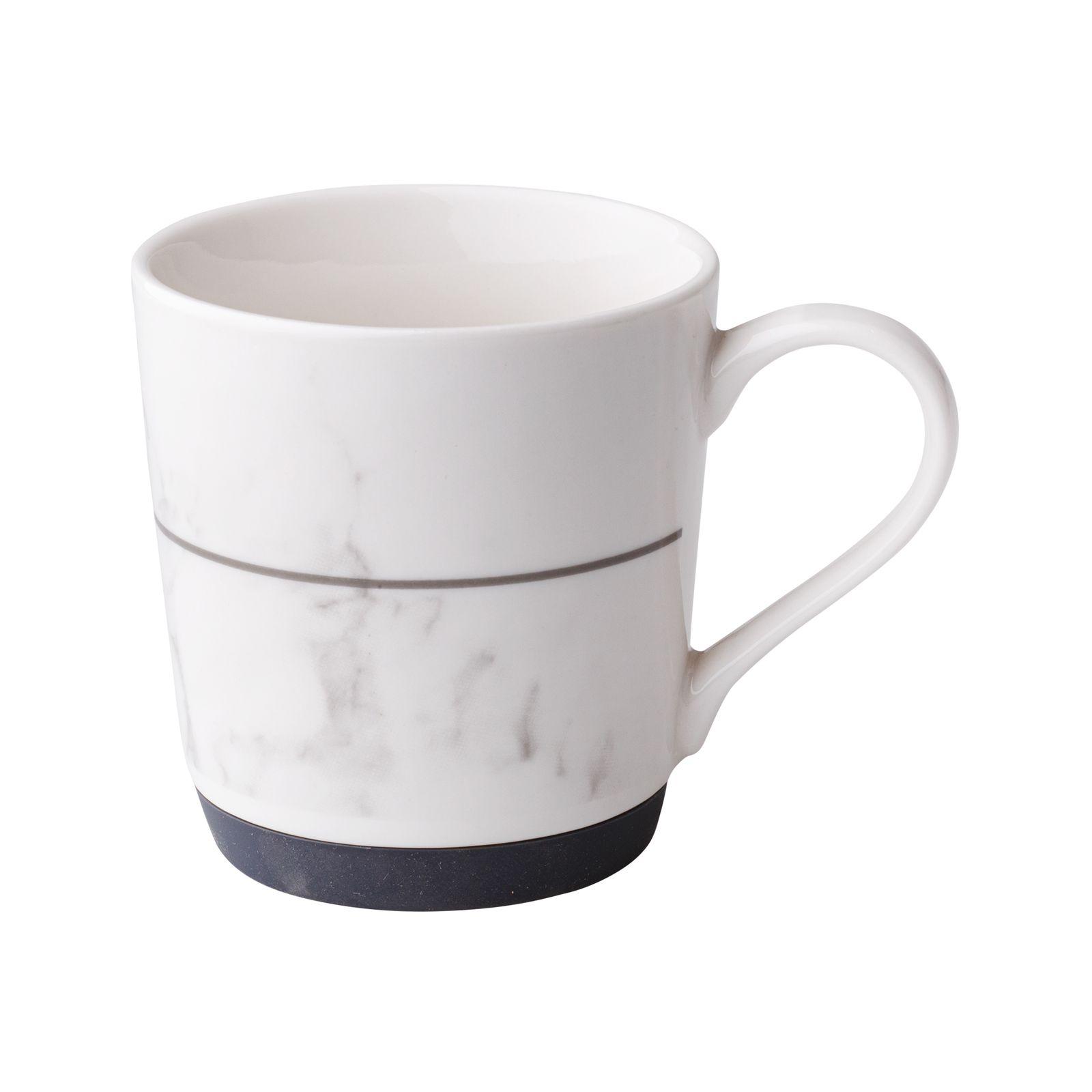 Mug avec base en silicone Marble grey 32 cl AMBITION