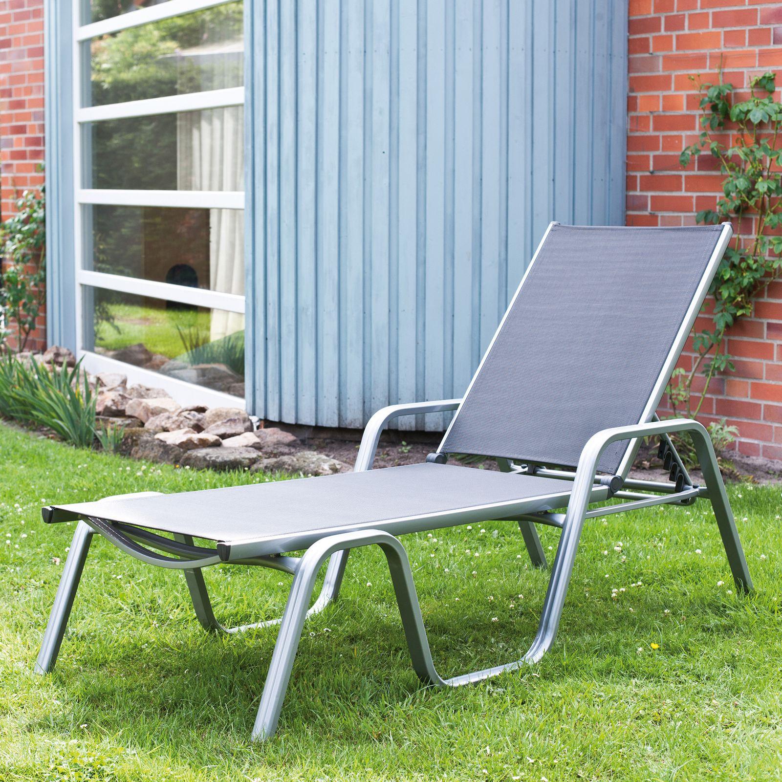 Łóżko ogrodowe Basic Plus srebrny KETTLER