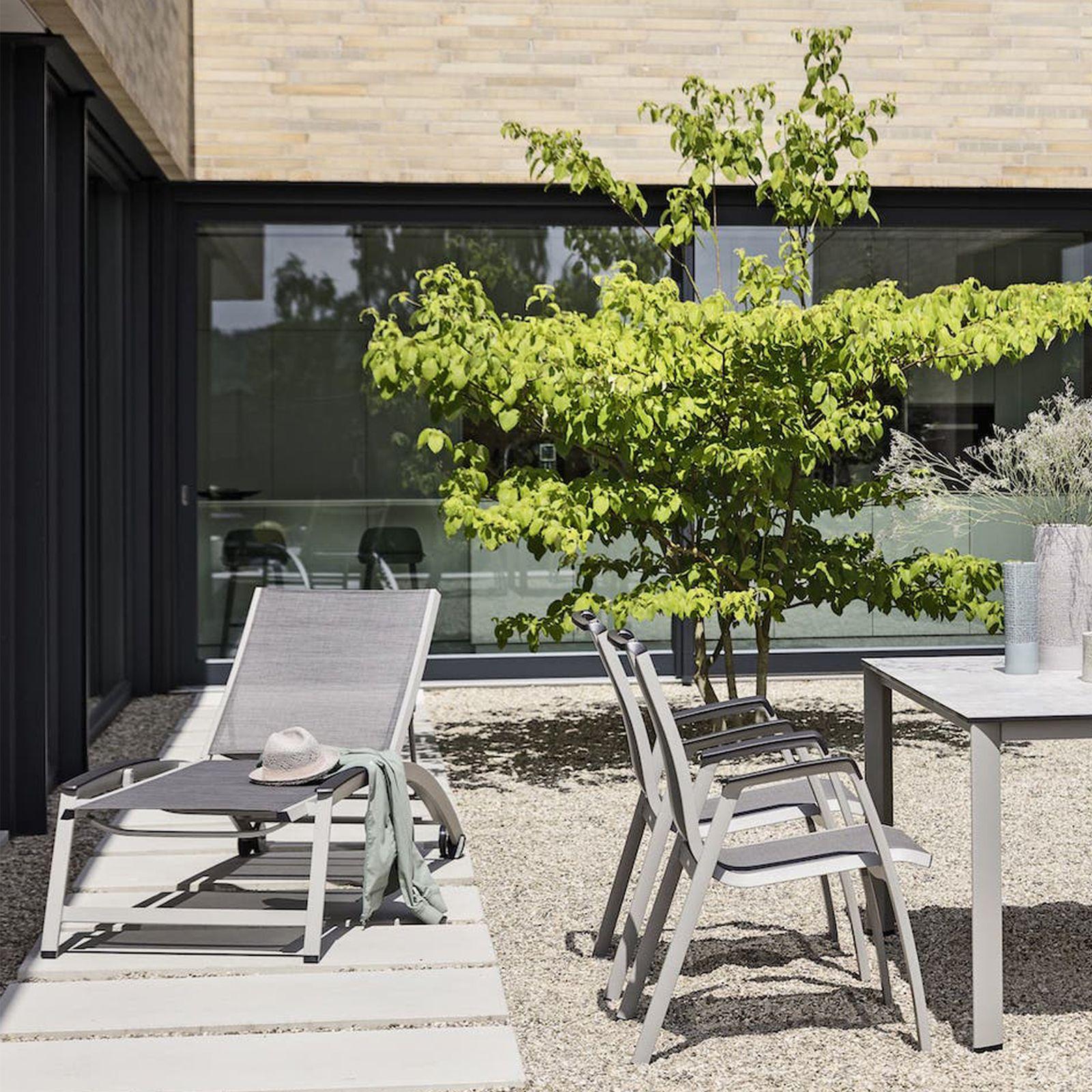Łóżko ogrodowe Forma II srebrny KETTLER