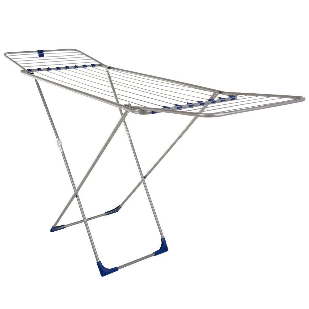 Uscător de haine Mira Plus 185 x 55 x 103 cm metalic/albastru JOTTA