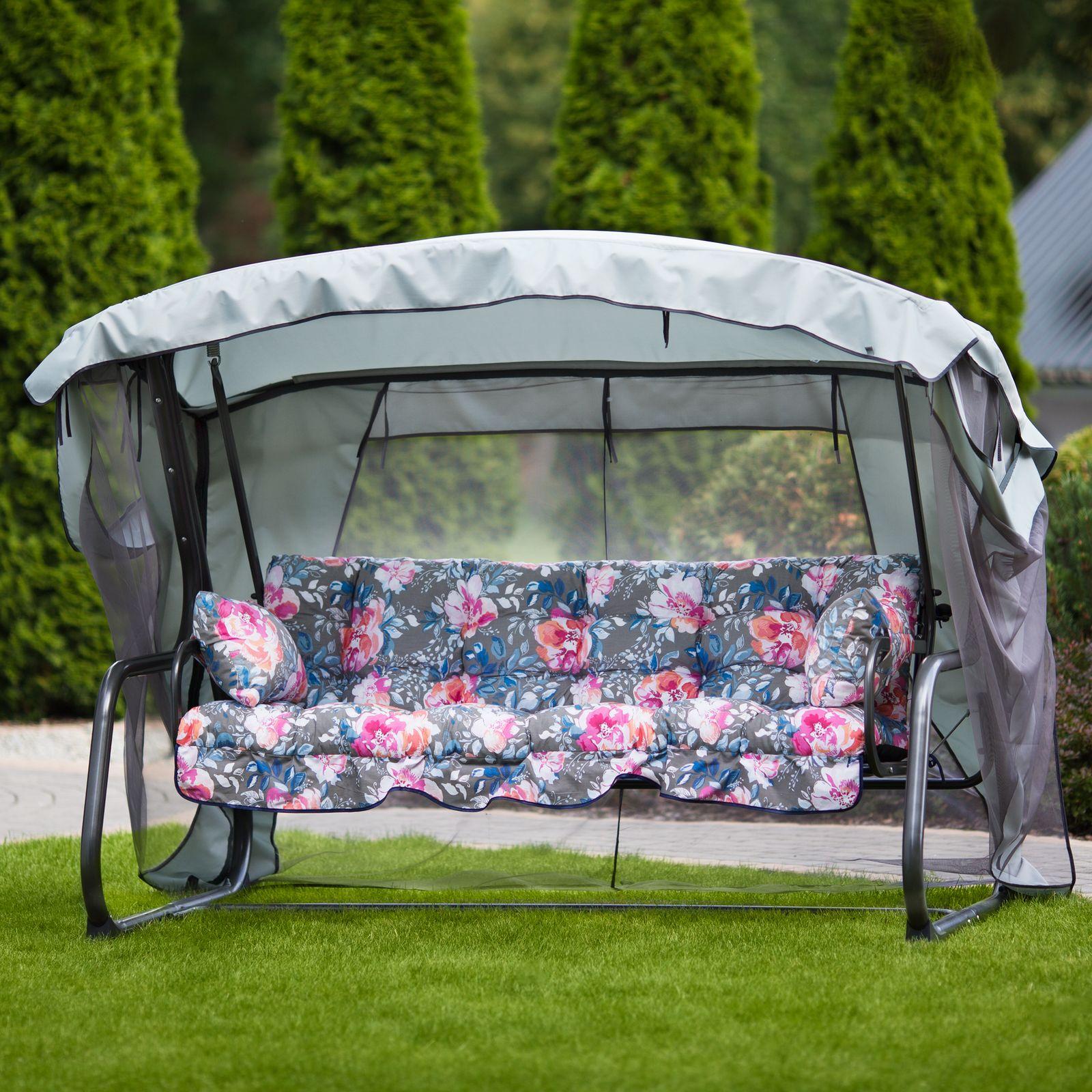 Balancín de jardín con mosquitera Ravenna Lux A091-23PB PATIO