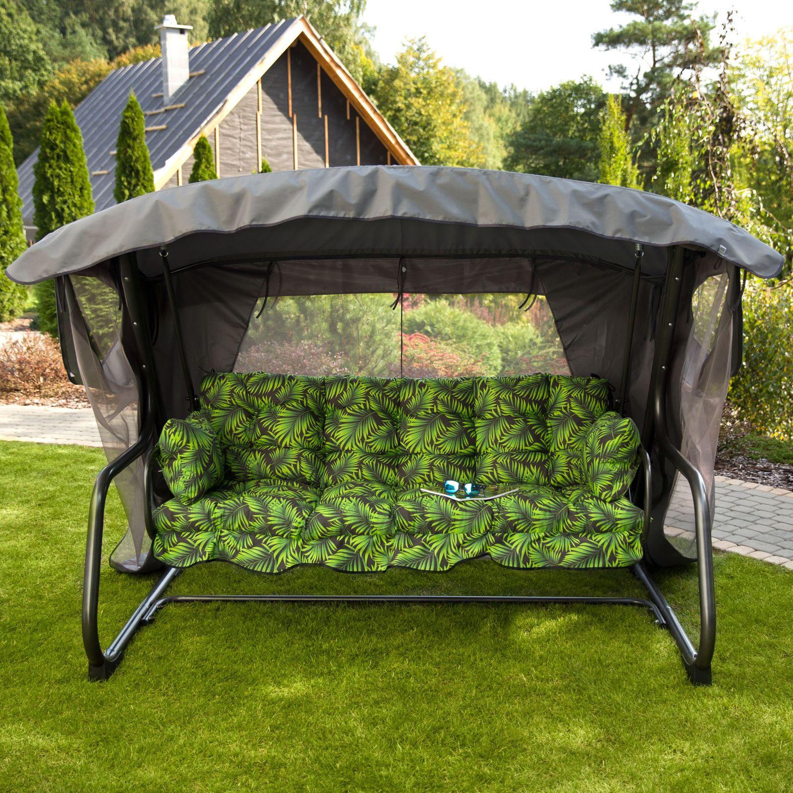 Záhradná hojdačka Ravenna Lux s moskytiérou G041-02PB PATIO