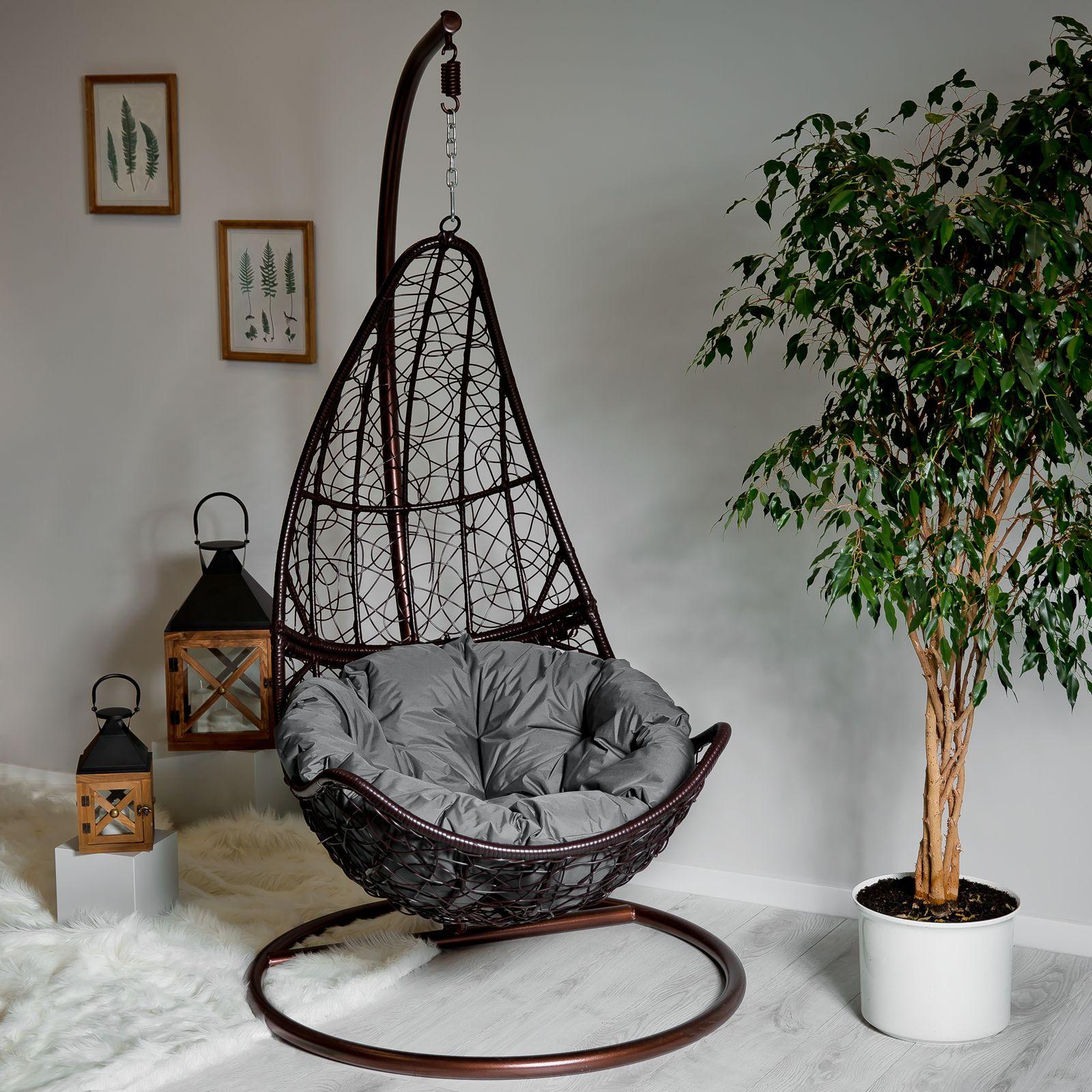 Cojín redondo para silla colgante D031-26CW 100 x 100 x 10/12 cm PATIO